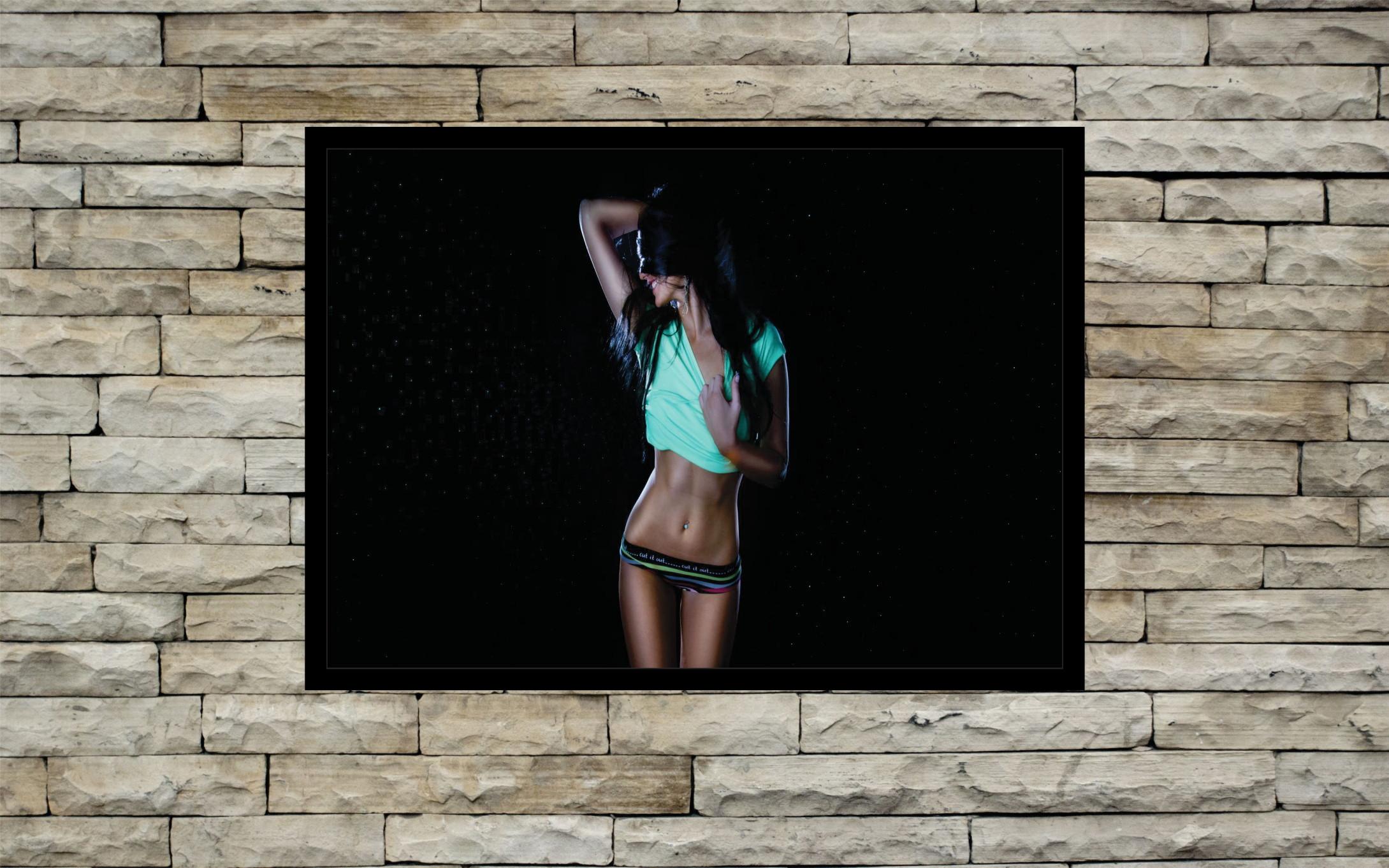 9895ed0d88 Quadro Decorativo Lojas Vestuário Feminino Rm0382 no Elo7