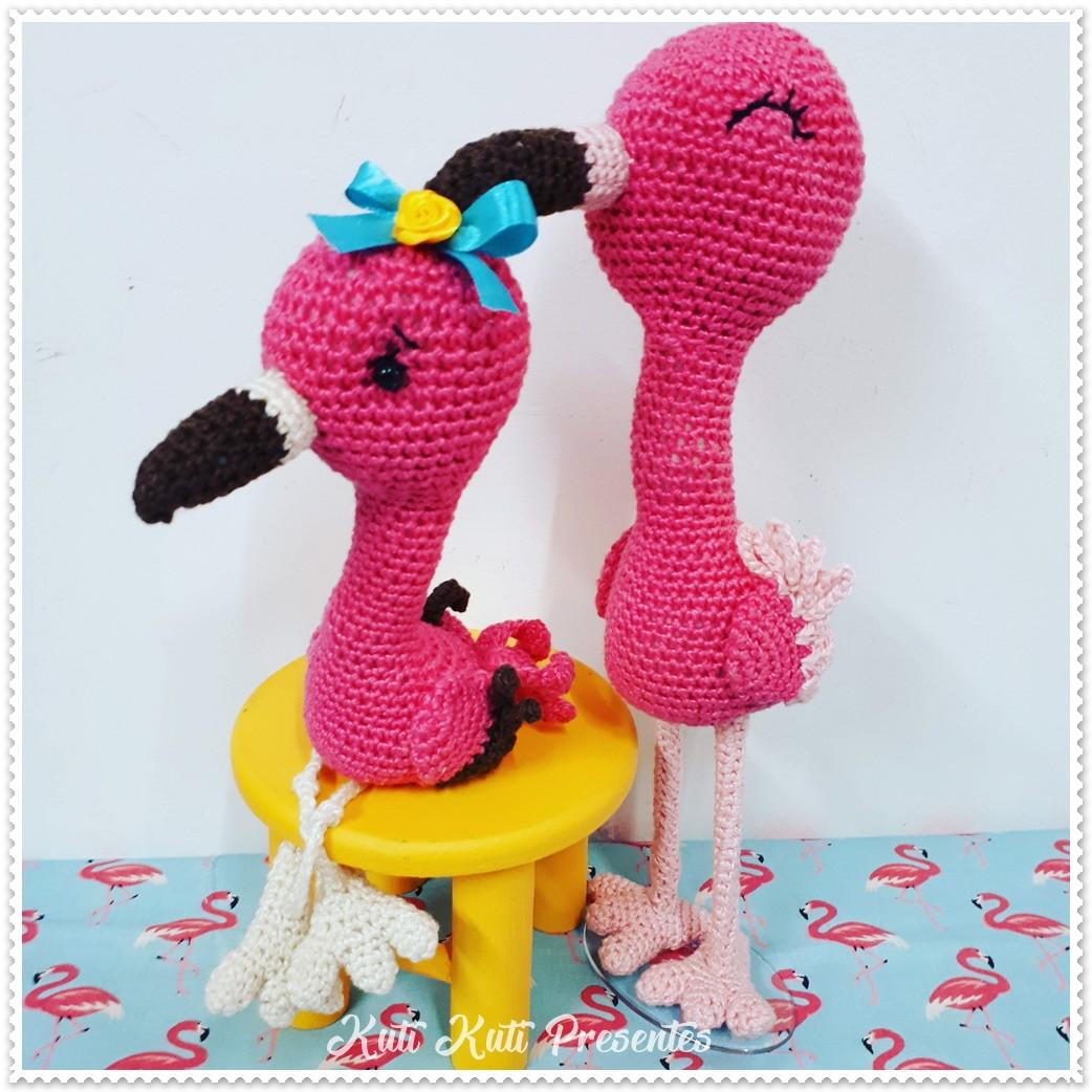 Flamingo E Abacaxi Em Amigurumi No Elo7 Kuti Kuti Presentes D8f6aa