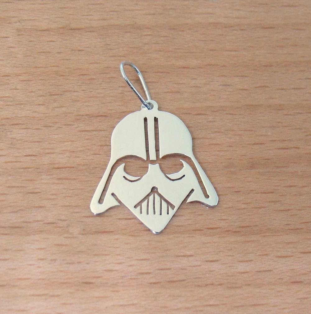 Pingente De Prata Capacete Darth Vader No Elo7 Lsr Joias D97570