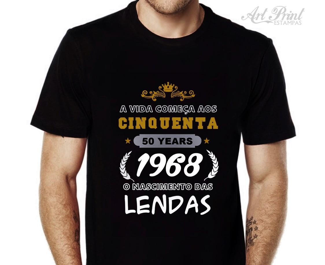 Camisetas Personalizadas 50 Anos  43a0f2b0e8b