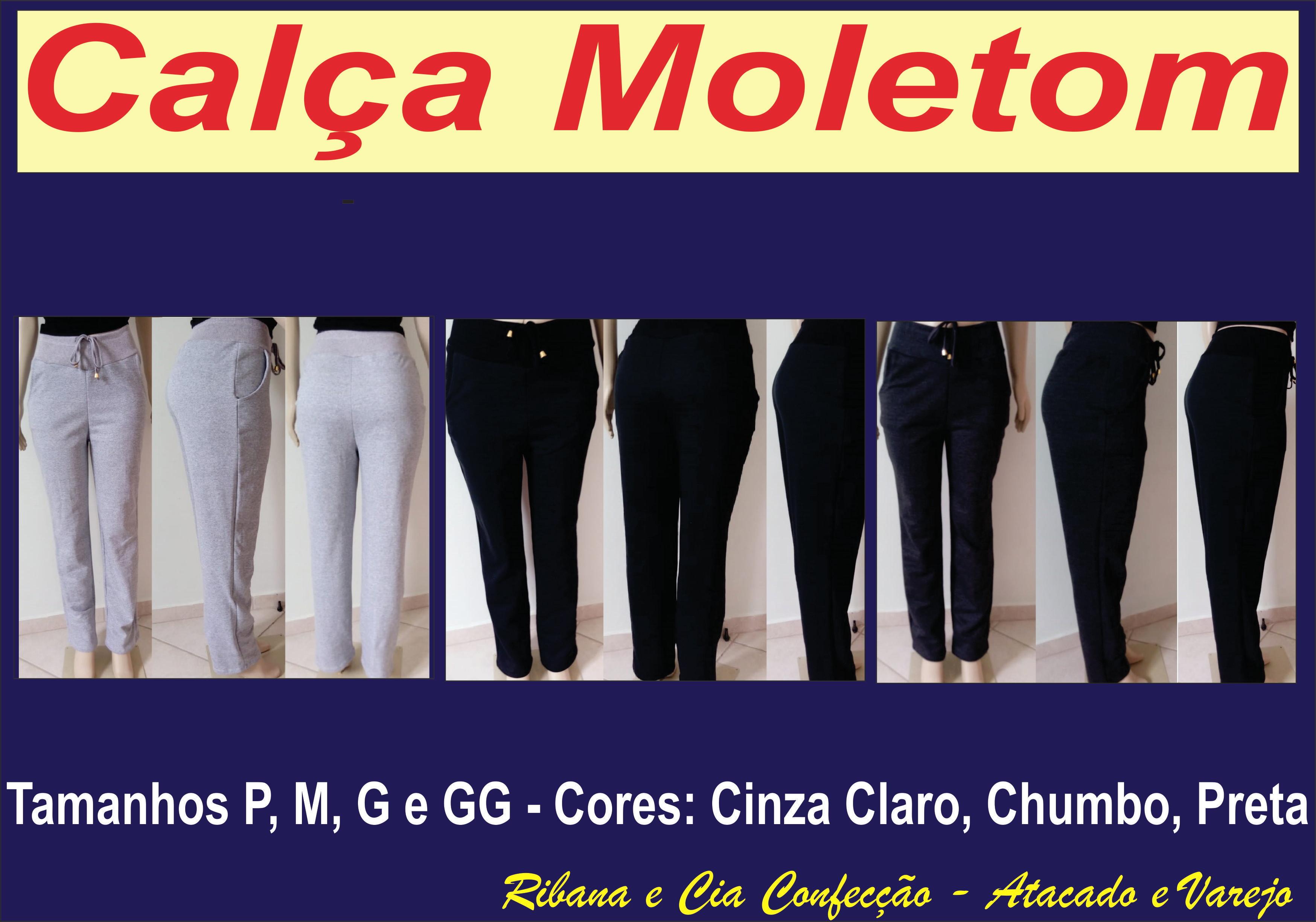 e56866ec1f87e Calca Moletom Kit