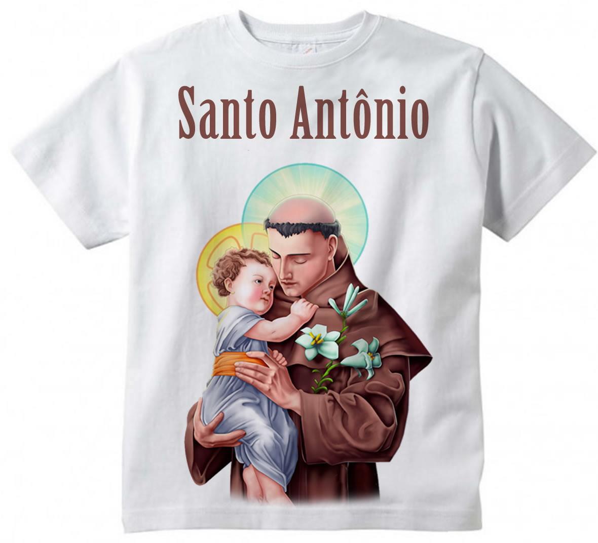 572e01e033 Camiseta Infantil de Santo
