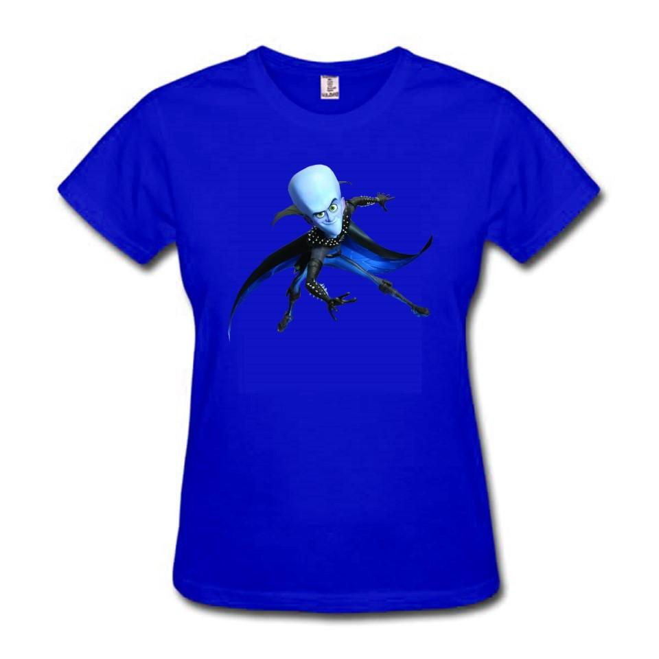 77cc0e4d4a Comprar Camiseta Baby Look Feminina Azul Colorida Personalizada Megamente