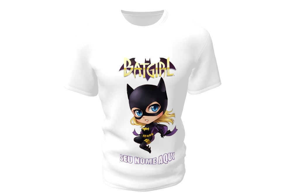 774168afa Camiseta Camisa Blusa Personalizada Batgirl Batman