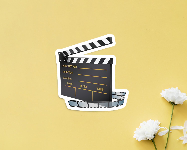 4f9619c30e9ca Aplique placa quadro - MDF e impressão– cinema óculos 3D no Elo7   A Carol  que fez - festa e decoração - Ribeirão Preto (DAB120)