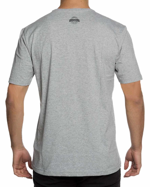 f30e15adc9 Camiseta Básica Gola V Cinza 100% Algodao Alta Qualidade no Elo7 ...