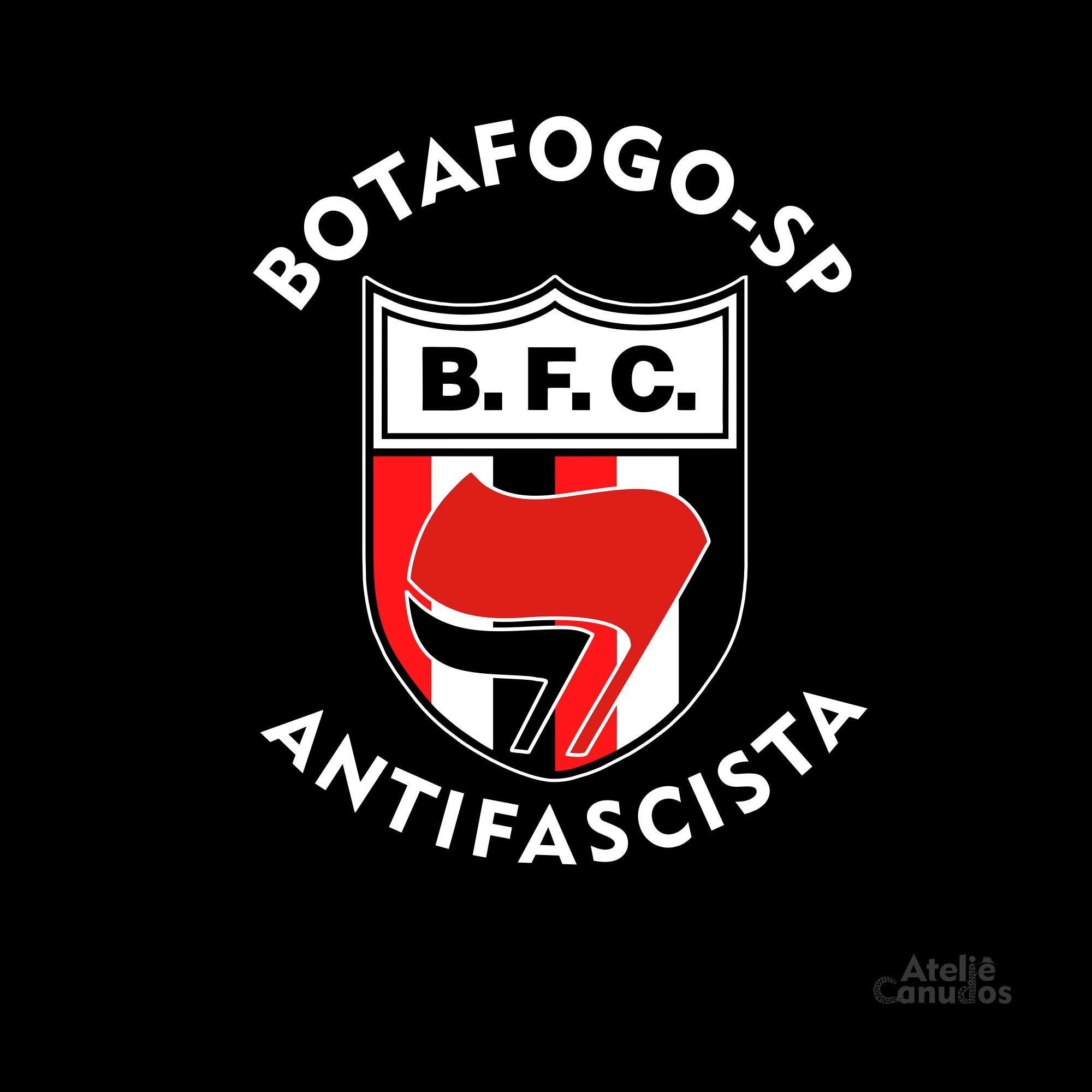 bc4063ba21 Camisa Botafogo SP antifascista INFANTIL - branca no Elo7
