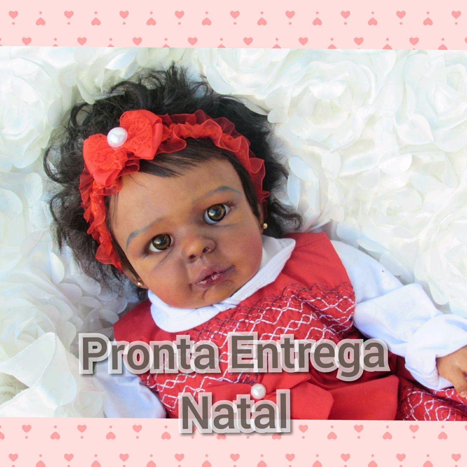 Bebe Reborn Negra   Elo7 245258817ad