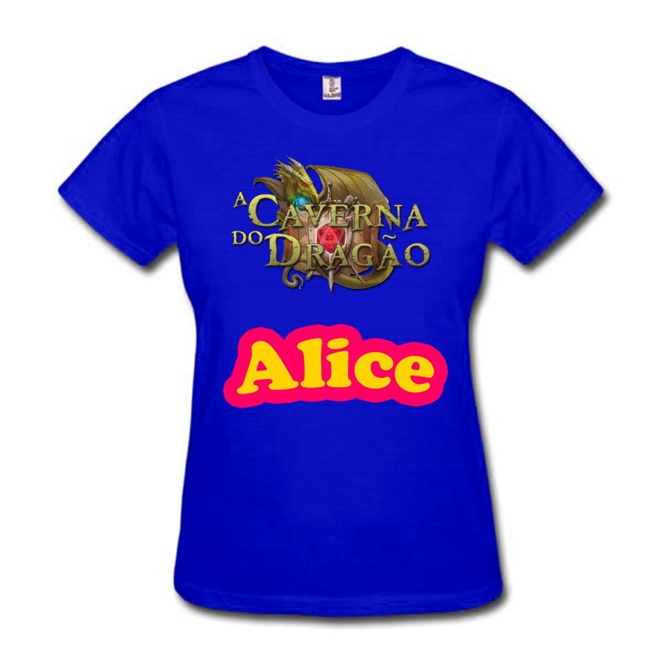 0f2b63550 Camiseta Feminina Caverna do Dragao