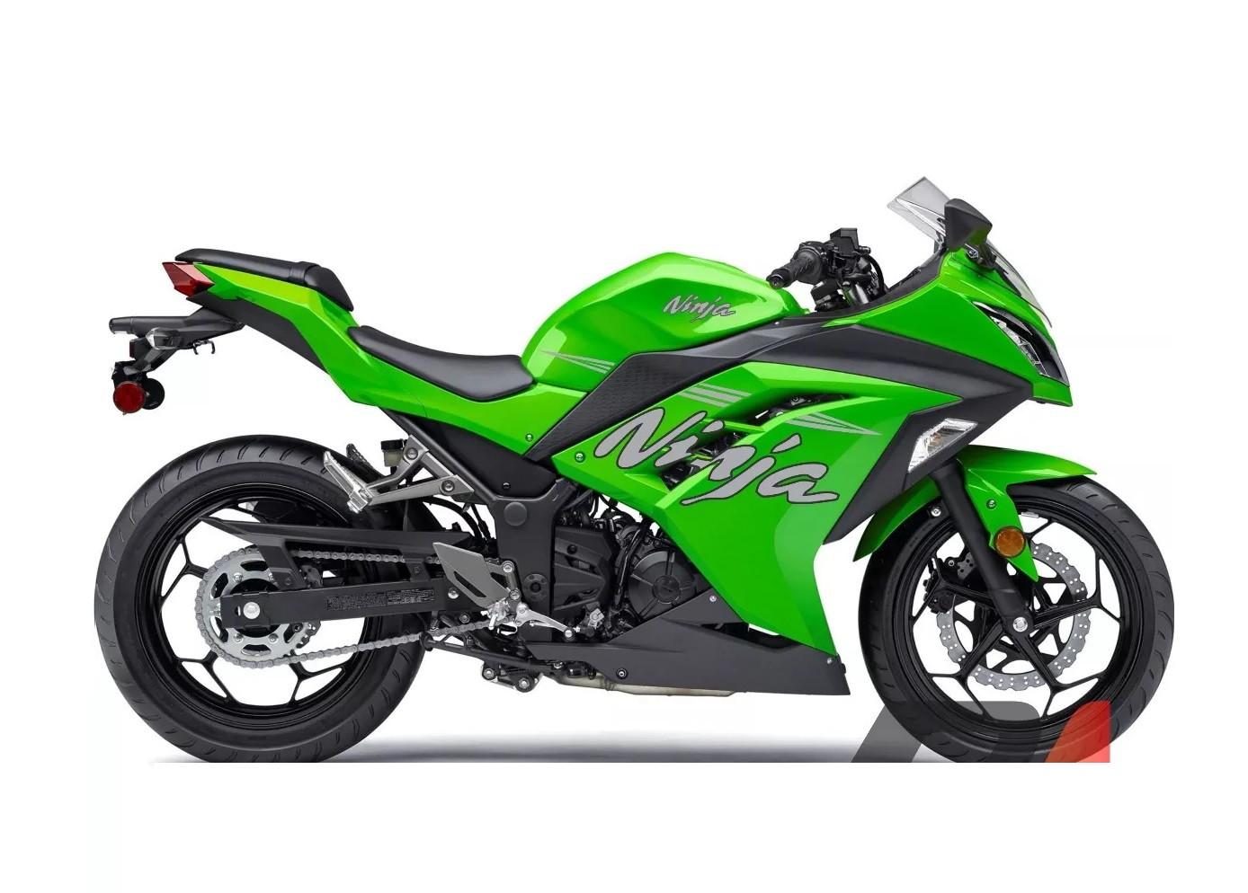 Kit Adesivo Kawasaki Ninja 300 Verde Cinza Cores Frete Grati No Elo7 Power Adesivos Db0cc1