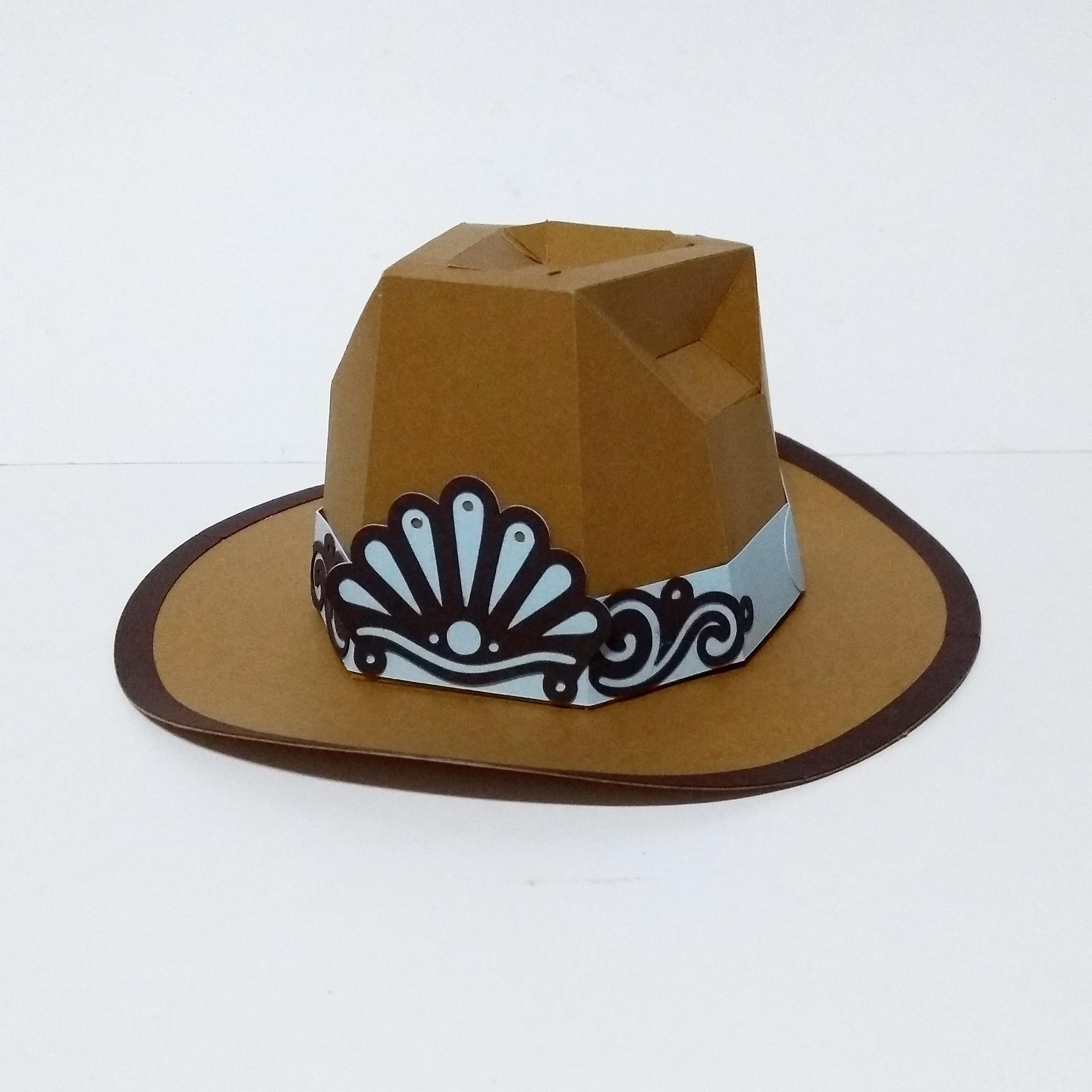 fac554178e14a Caixa Chapeu Cowboy