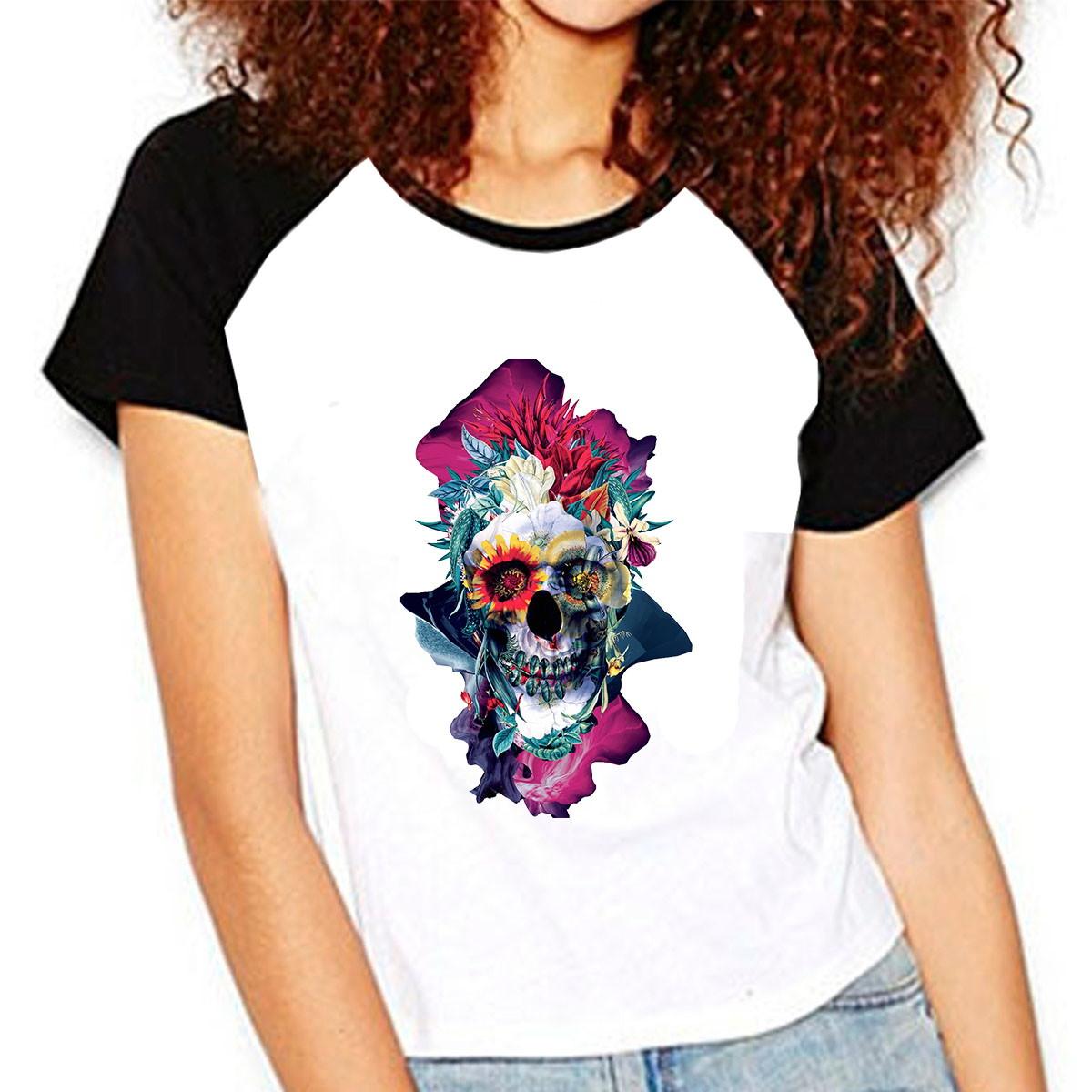 3ef53003ff3ec Camiseta Personalizada Caveira Skull 04