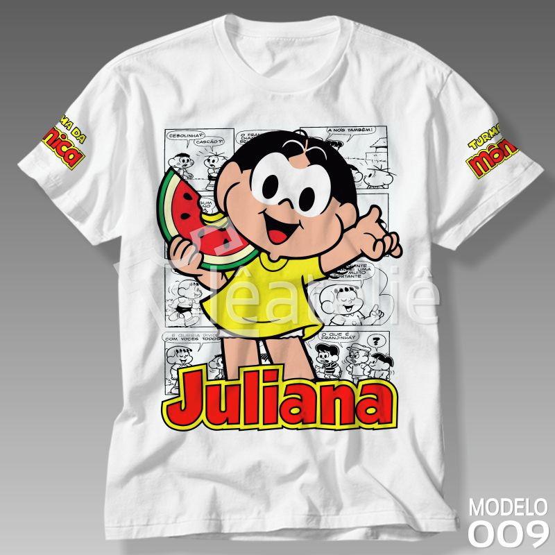 4bd4035f49 Camiseta Turma da Mônica Mingau Personalizada com Nome no Elo7 ...