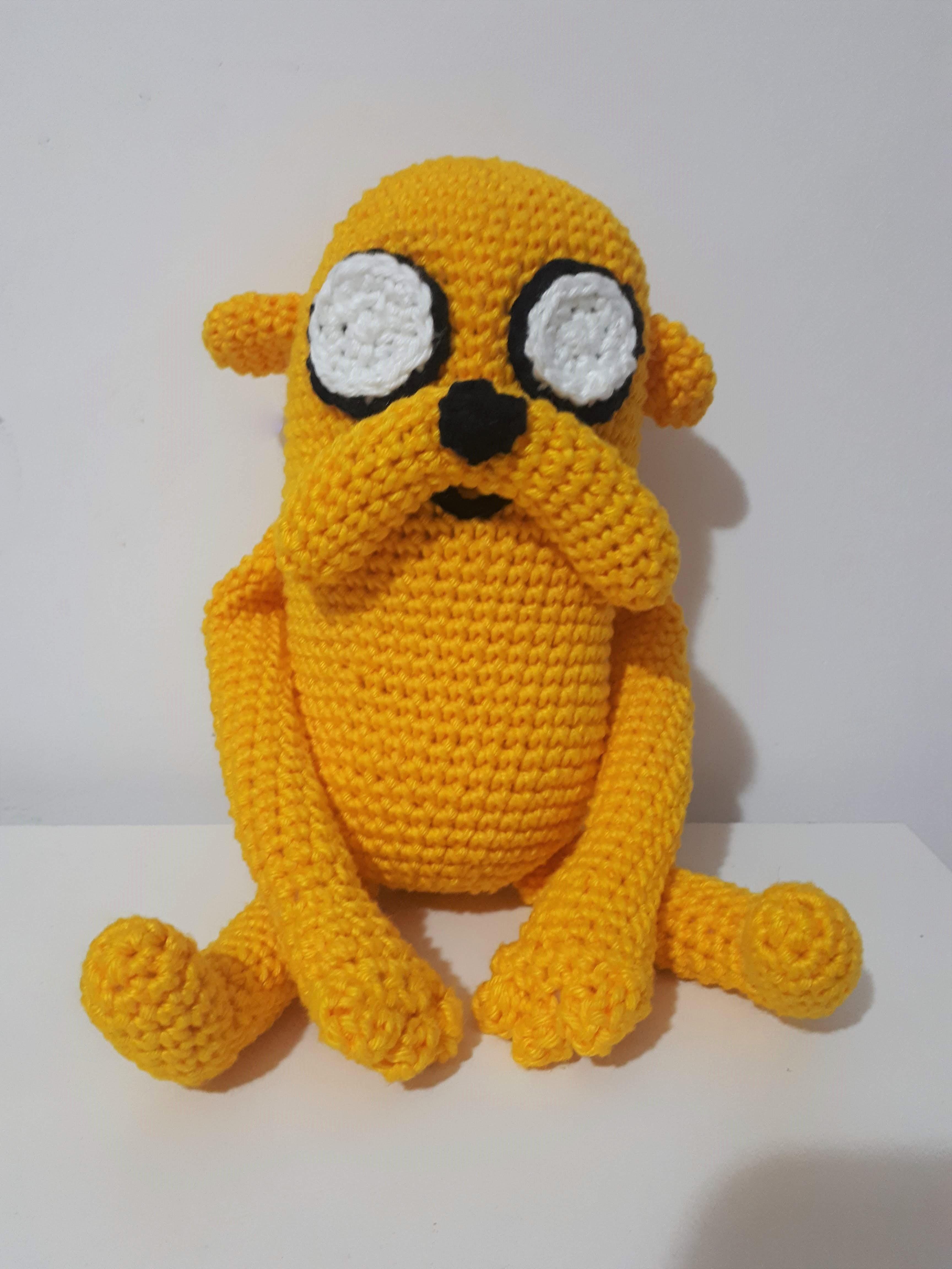 Adventure Time: Jake Amigurumi | Tiny Moon | 4608x3456