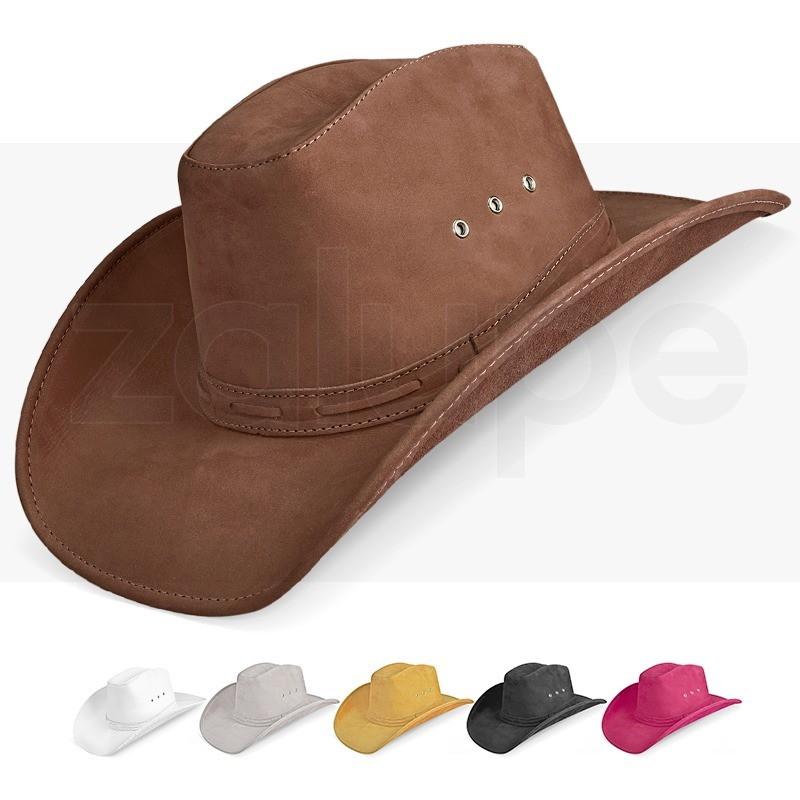 Chapeu Couro Masculino Country Texano Americano Rodeio Luxo no Elo7 ... 1e2589e72e3