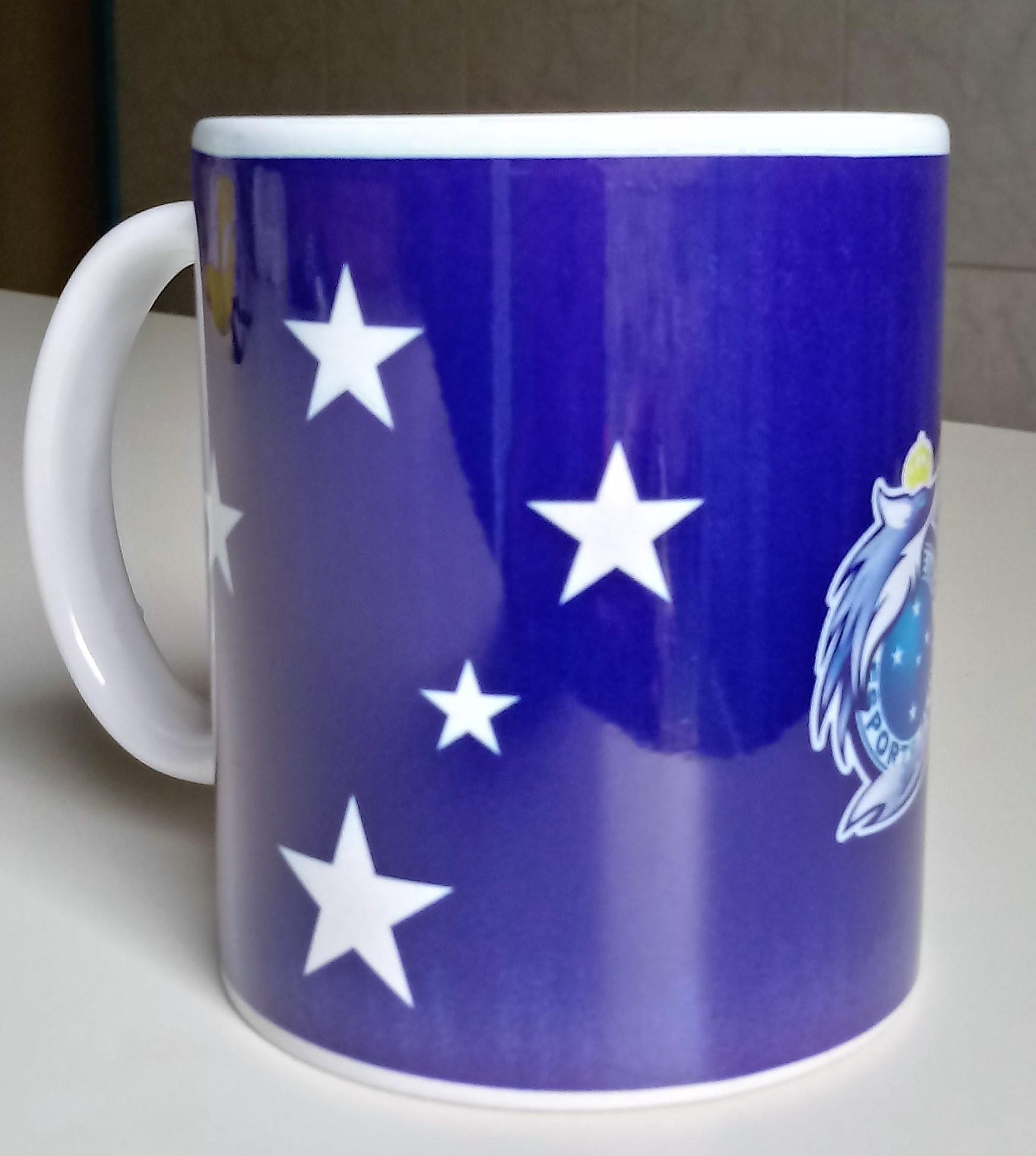 Caneca de Porcelana Time de Futebol Cruzeiro no Elo7  8c3d8e829014d