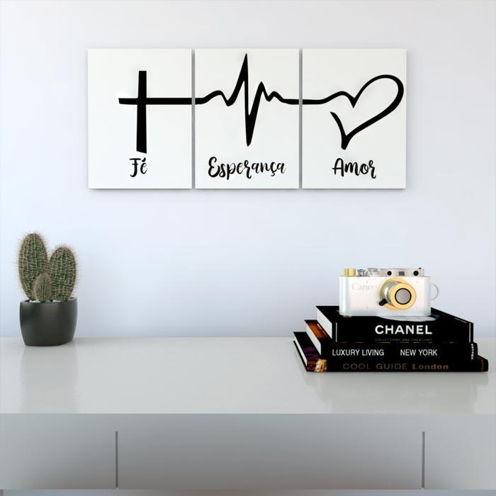 Placas Decorativas Com Frases Fé Esperança 003pdf
