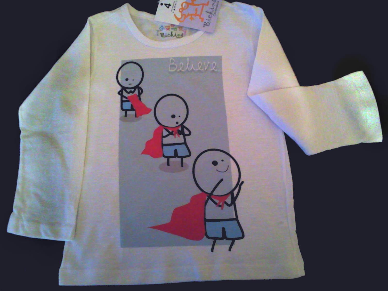 1d1b481bc7 Camiseta Manga Longa Infantil Superman Black