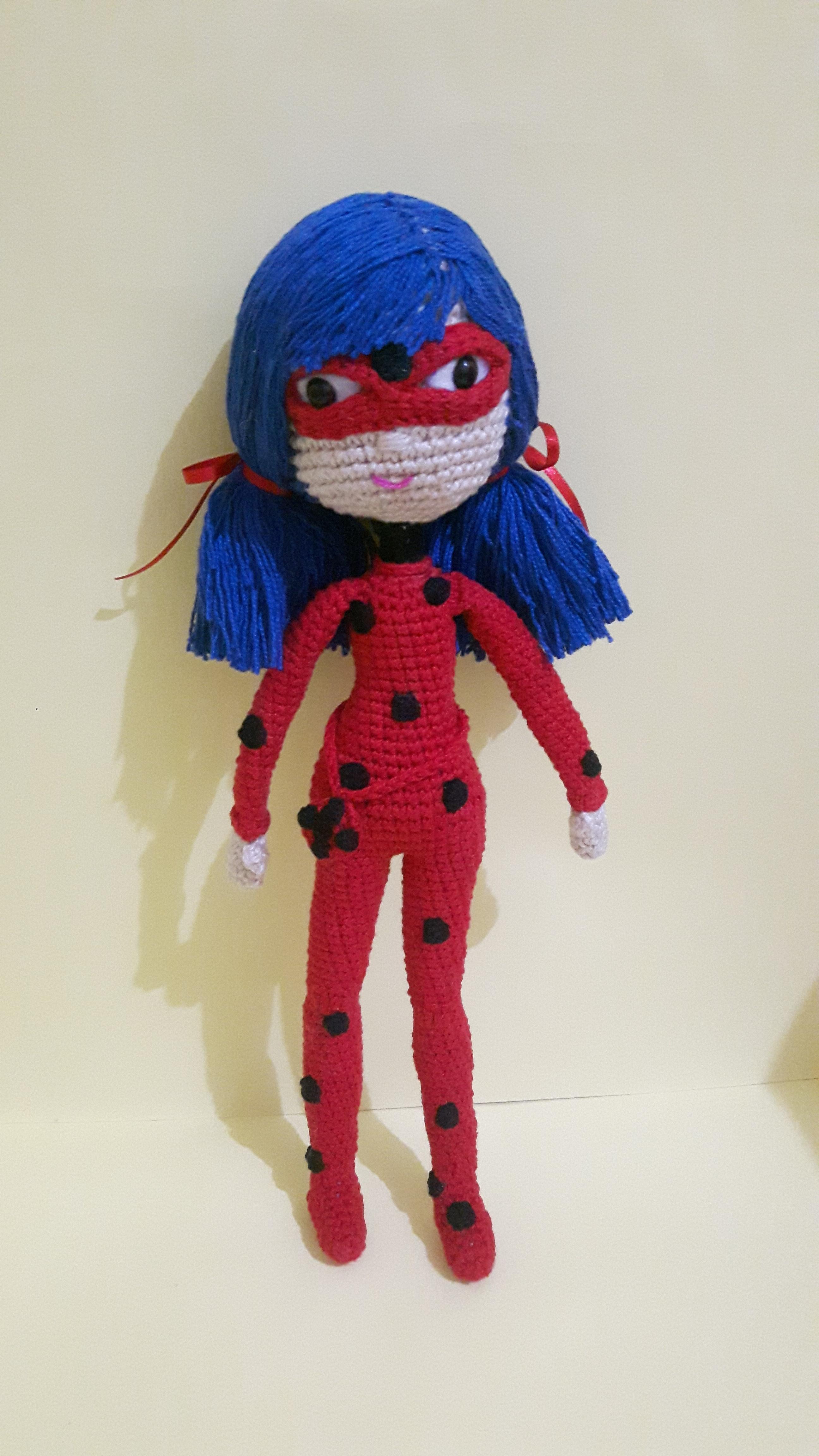 Miraculous Ladybug Crochet Doll Part 1 - YouTube | 4608x2592