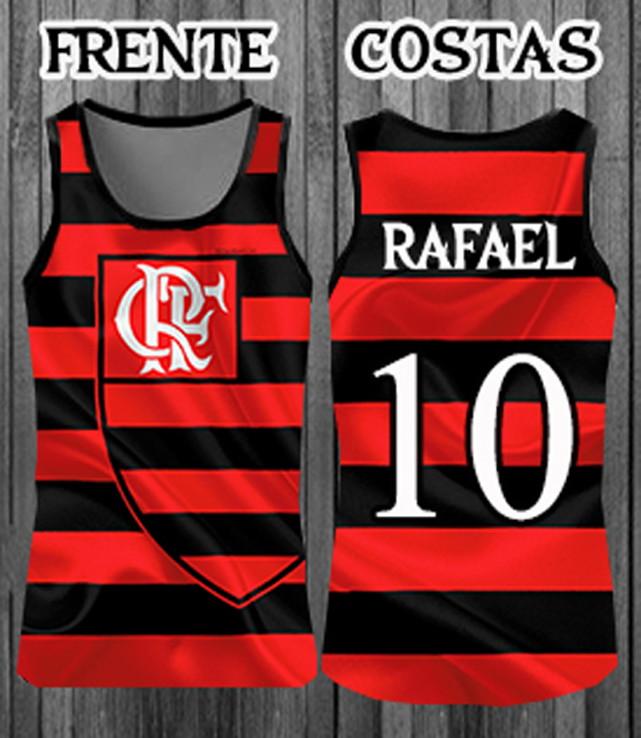 Regatas Personalizada Times Flamengo  e243234127243