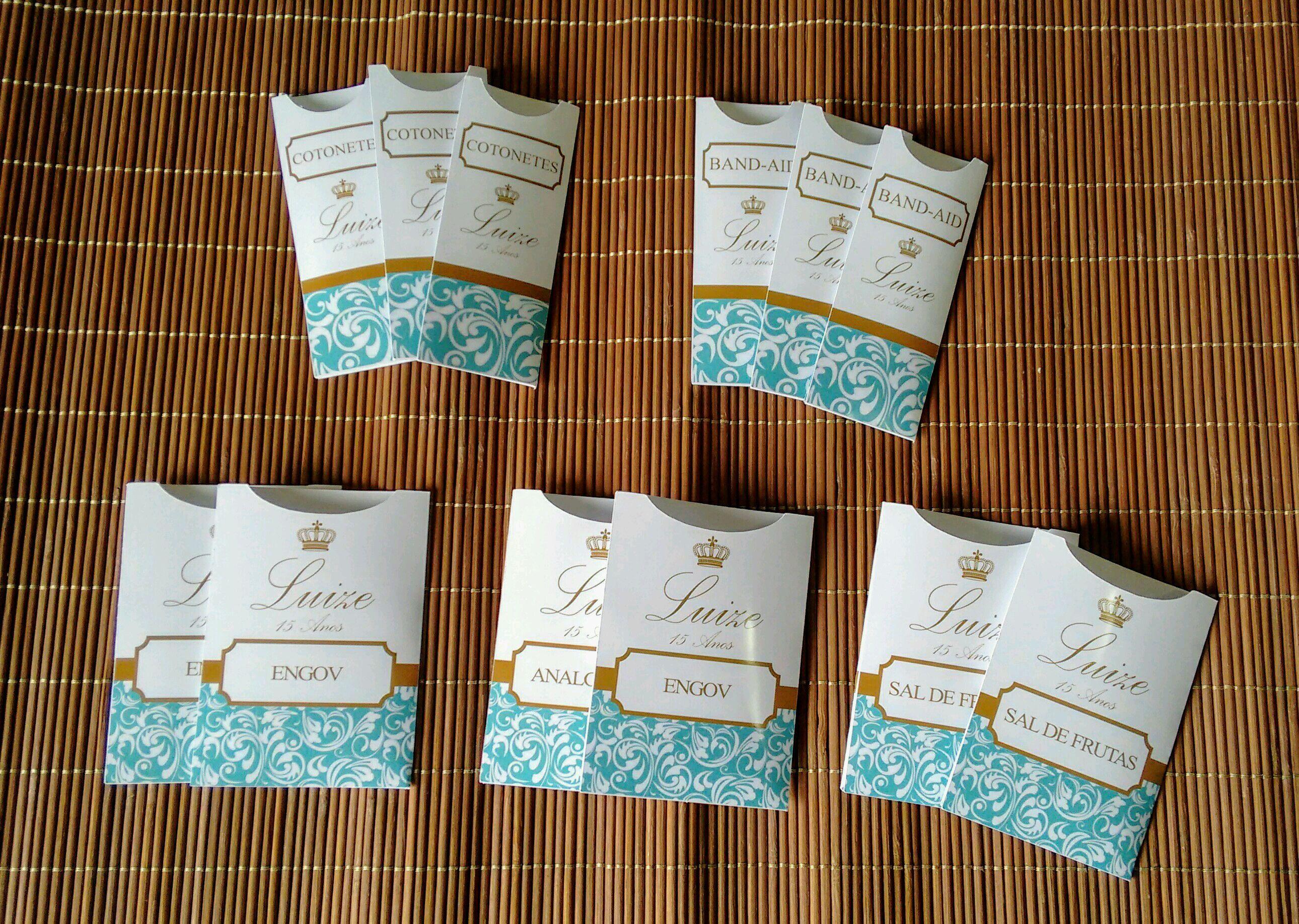 Kit Toalete Banheiro Azul Tiffany - Feminino e Masculino no Elo7   Papel  Decor Produtos Personalizados (DCA0C5) e59d17e8db