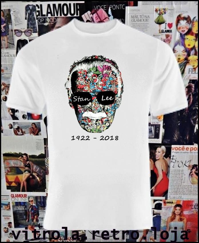2c47e803db Camiseta Stan Lee no Elo7