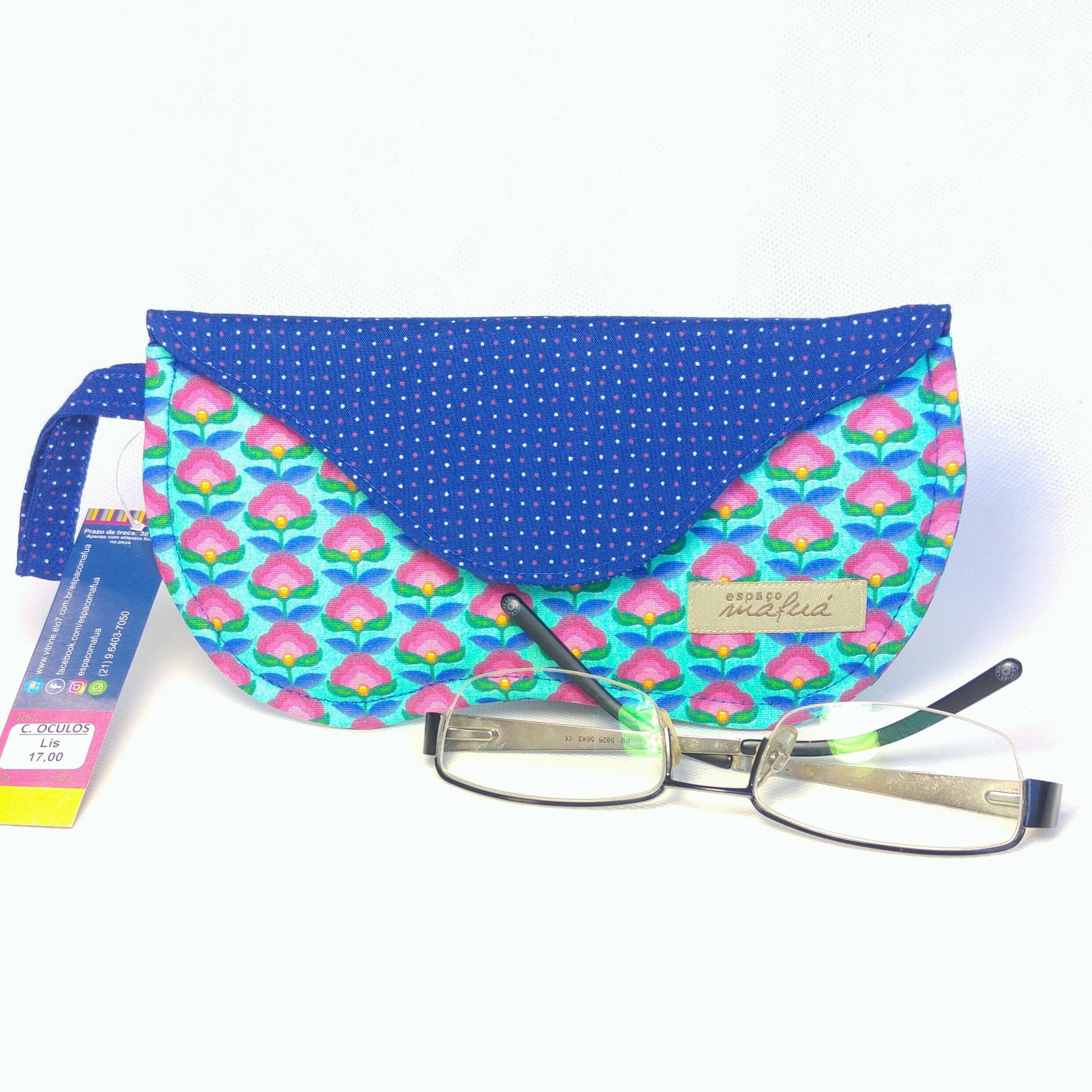 1a475906d0e4e Capa Tecido para Oculos   Elo7