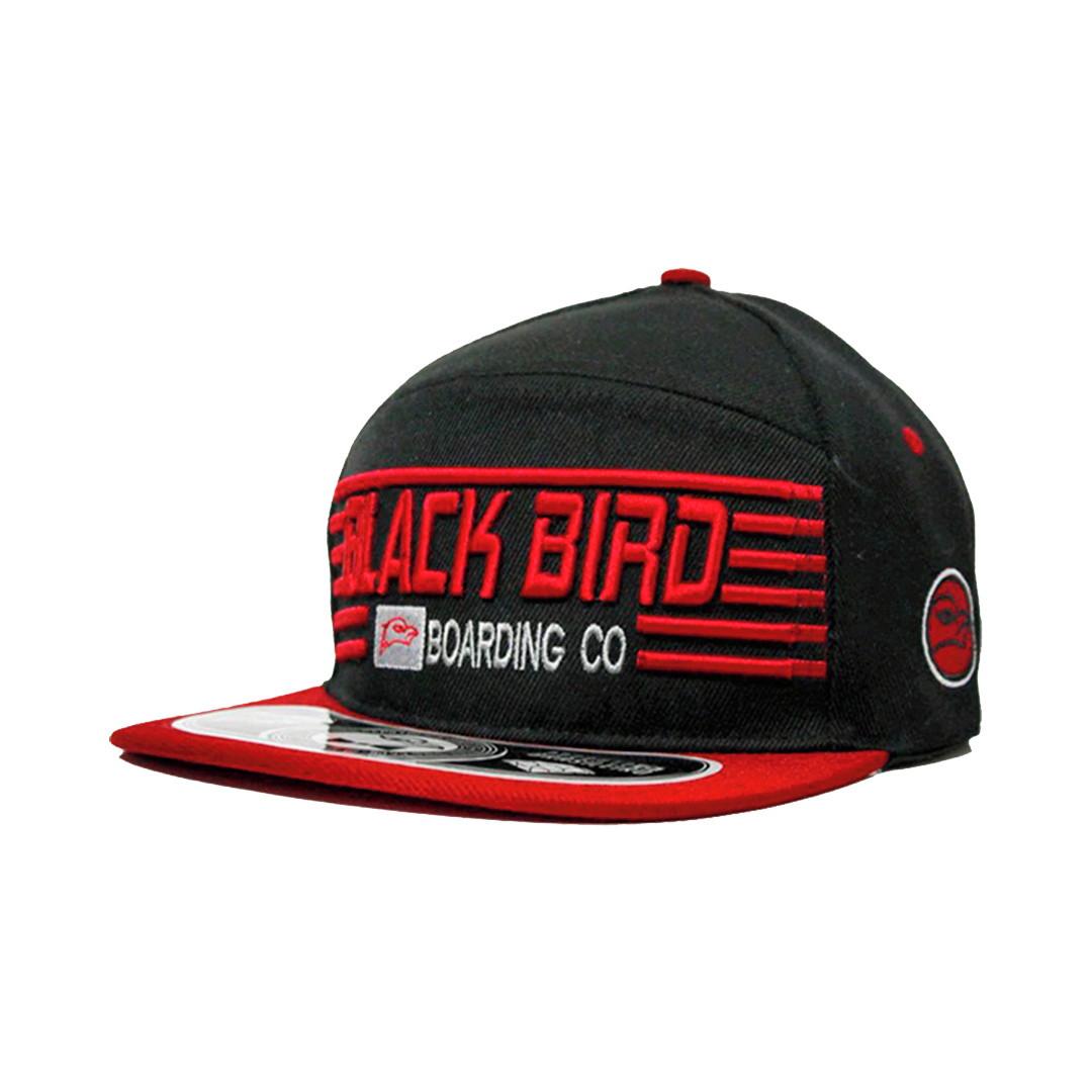 82db87fb93 Boné Black Bird Boarding CO Aba Reta Strapback no Elo7 | New Time Cap  (DCCEC7)