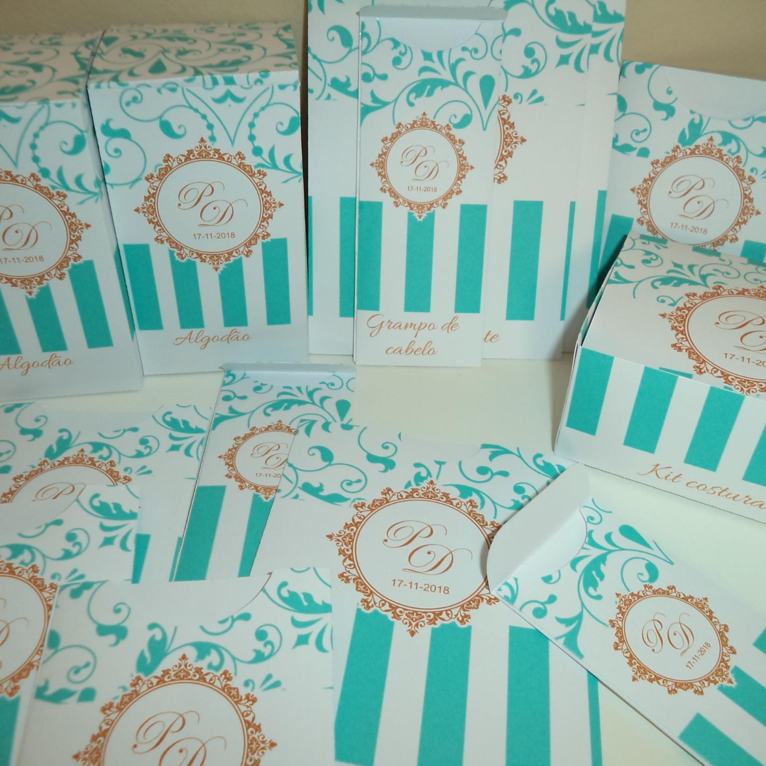Kit Toalete para Quinze Anos Decoração Azul Tiffany   Elo7 c5b540df07
