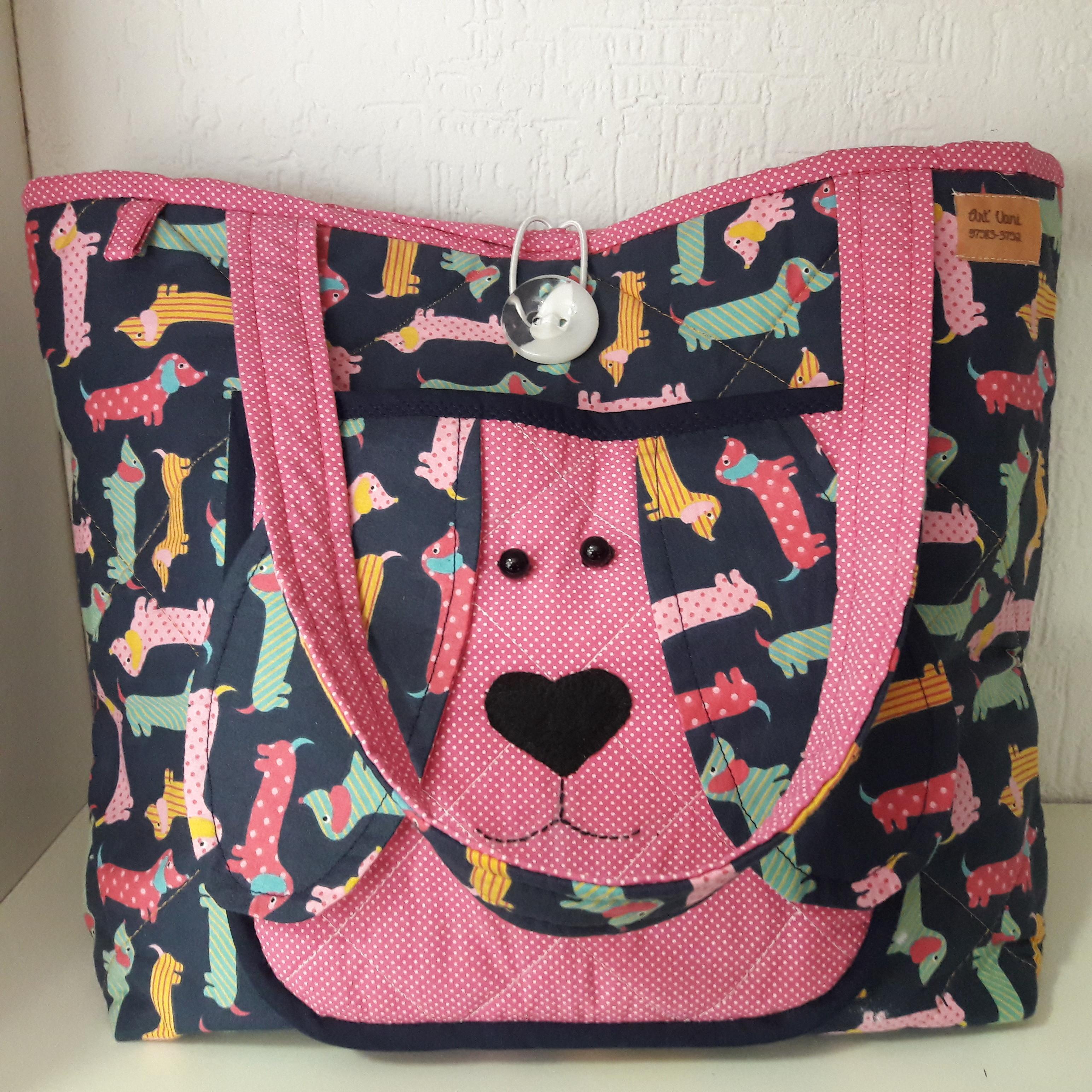 5096629e5 Bolsa Personalizada para Cachorro | Elo7