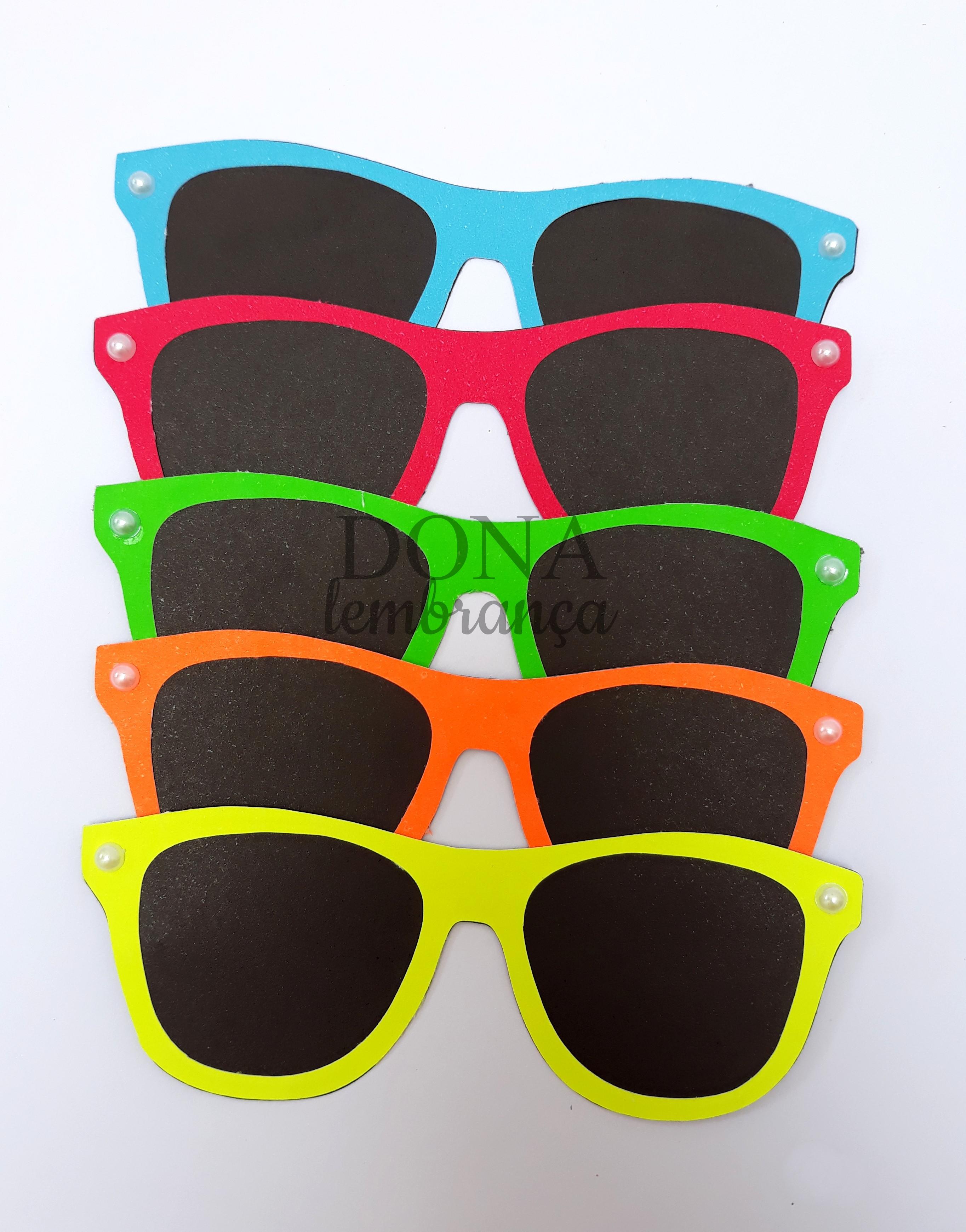 30a90fa95d606 Aplique Óculos de Sol Termocolante   Elo7