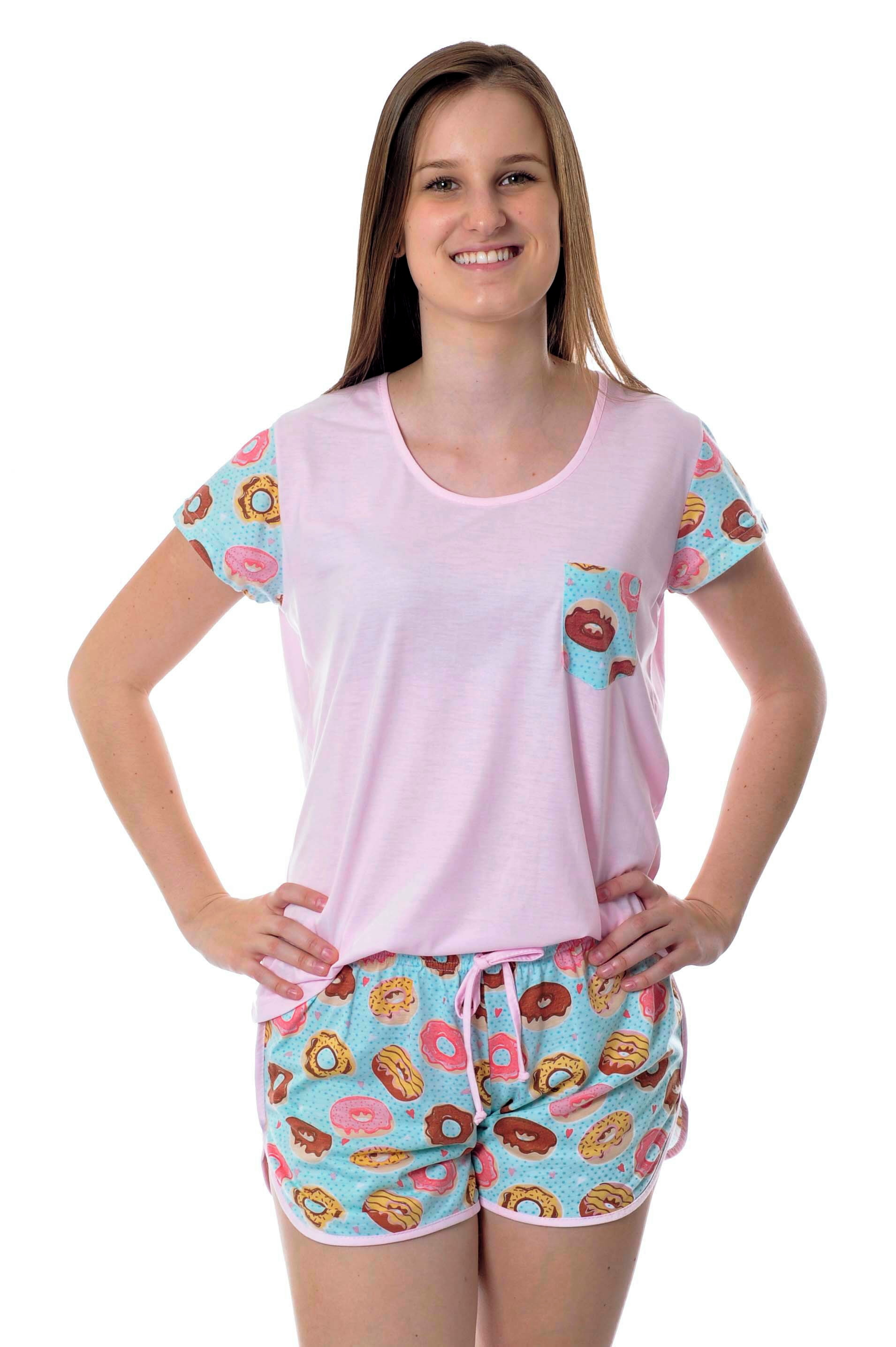 c550fa7613 Pijama Feminino Adulto com Calca Listrada