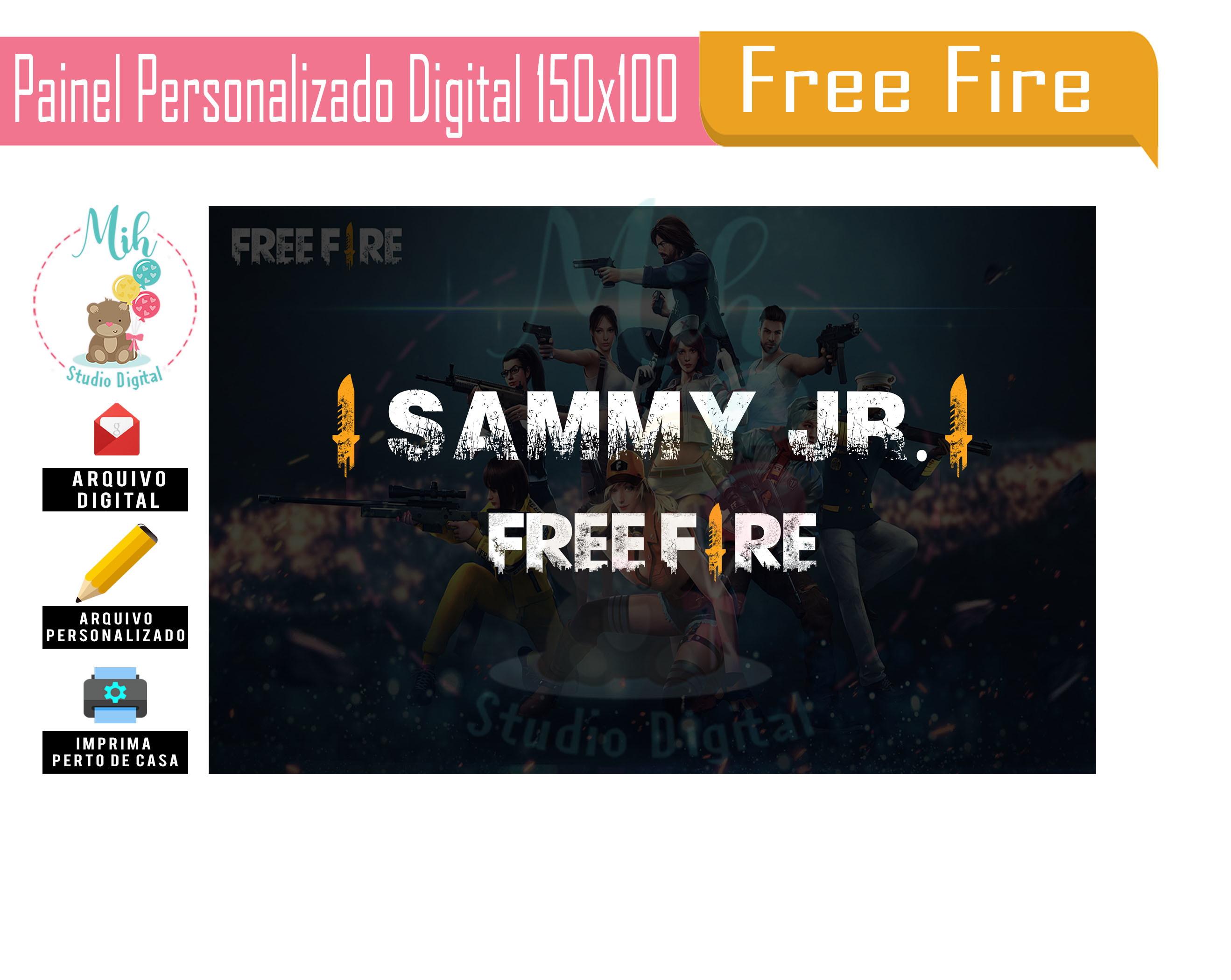 Free Fire Coleção De Mih Studio Digital At Mihstudiodigital Elo7