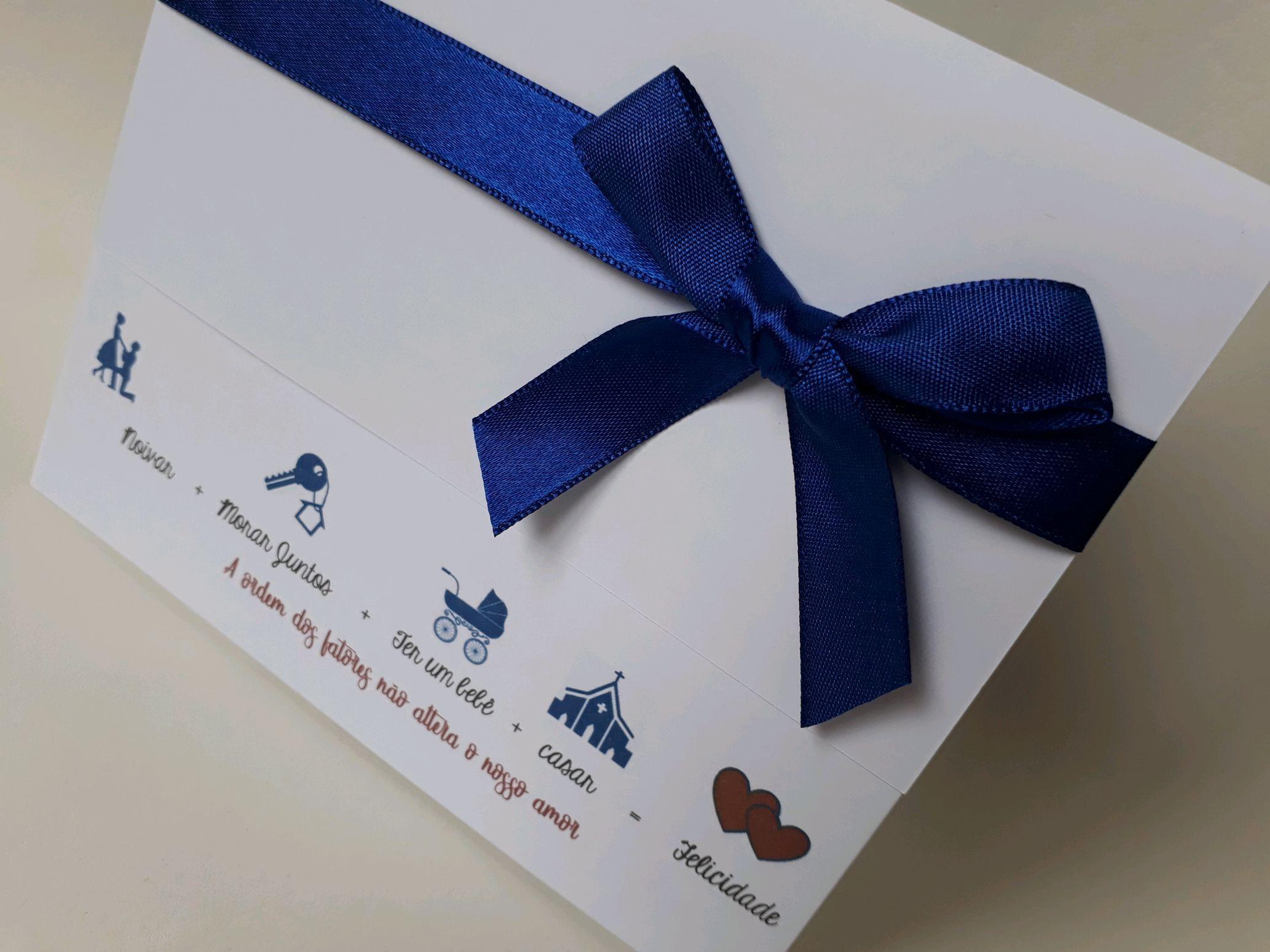 7eb09ae82839c Latinha Azul Royal   Elo7
