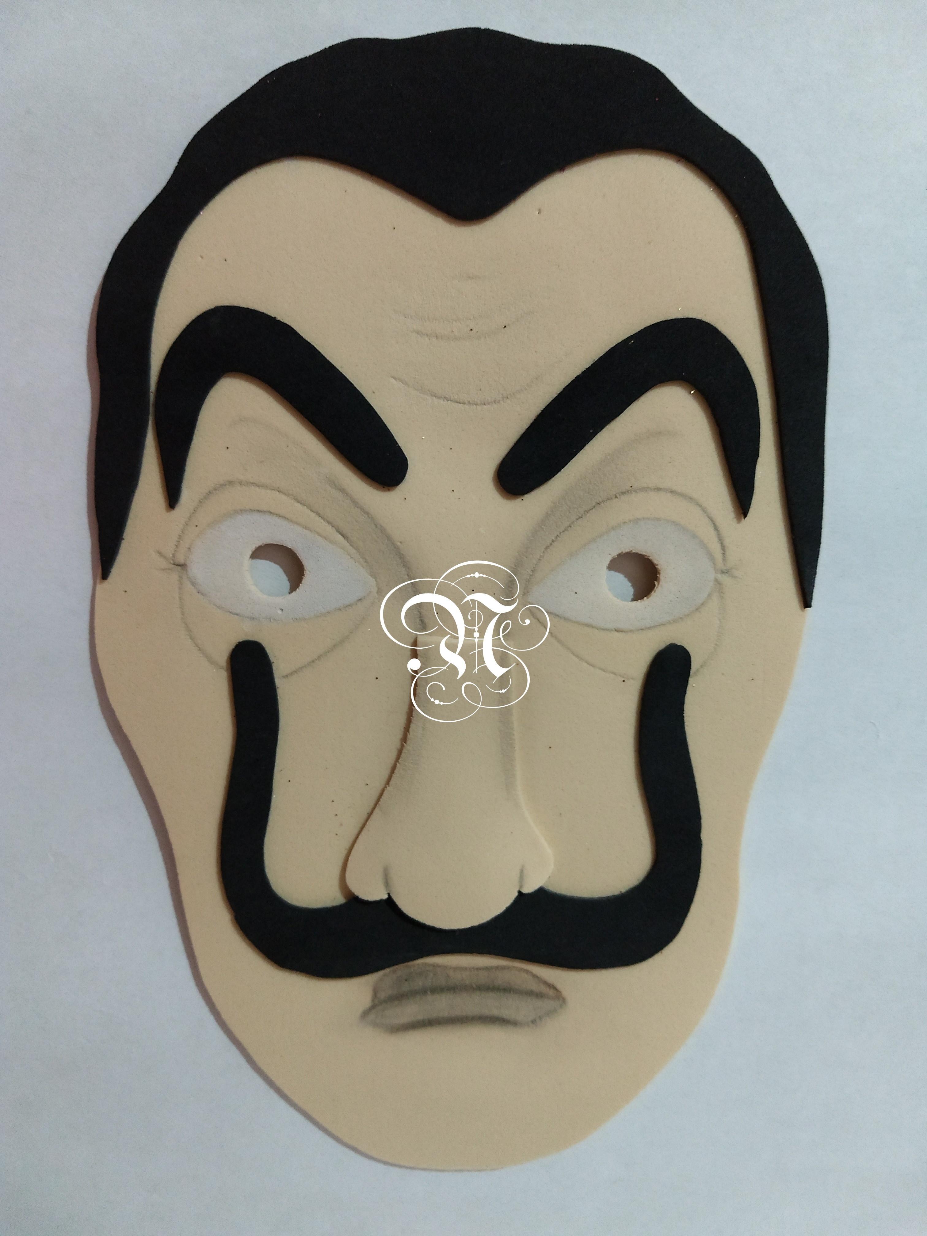 Mascara La Casa De Papel No Elo7 Ninnharts Dd47e5
