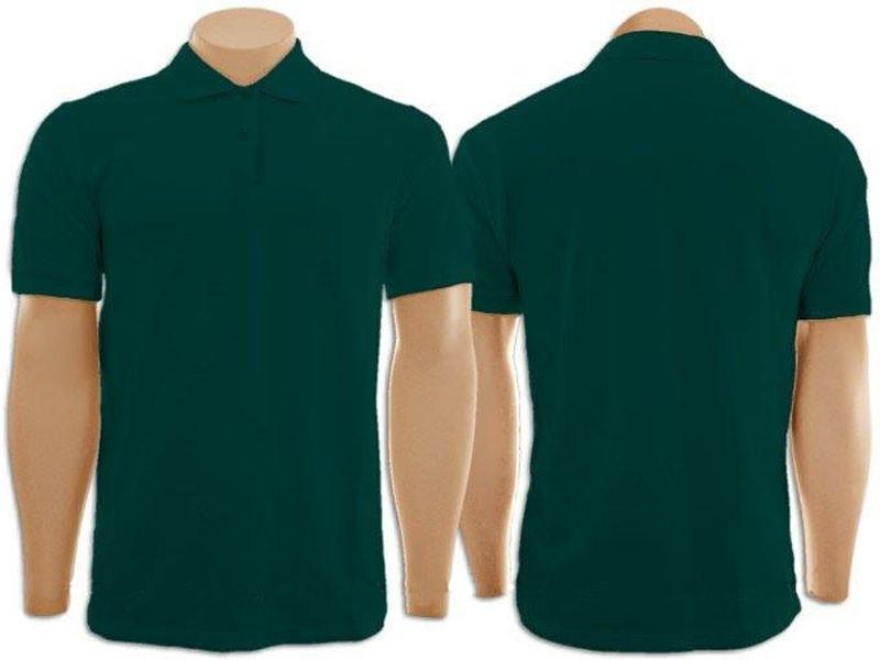 db29bf05d9 Camiseta Gola Polo Verde Musgo Masculino no Elo7