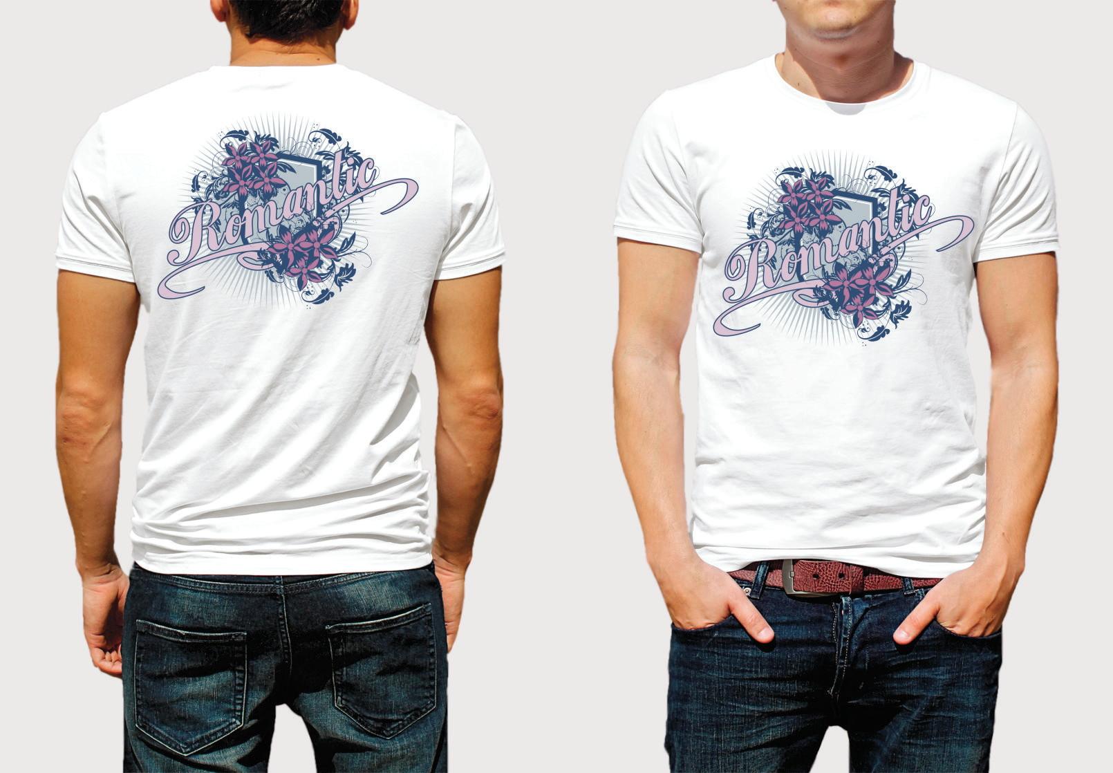 507488652e Camiseta Estampada Frente e Verso