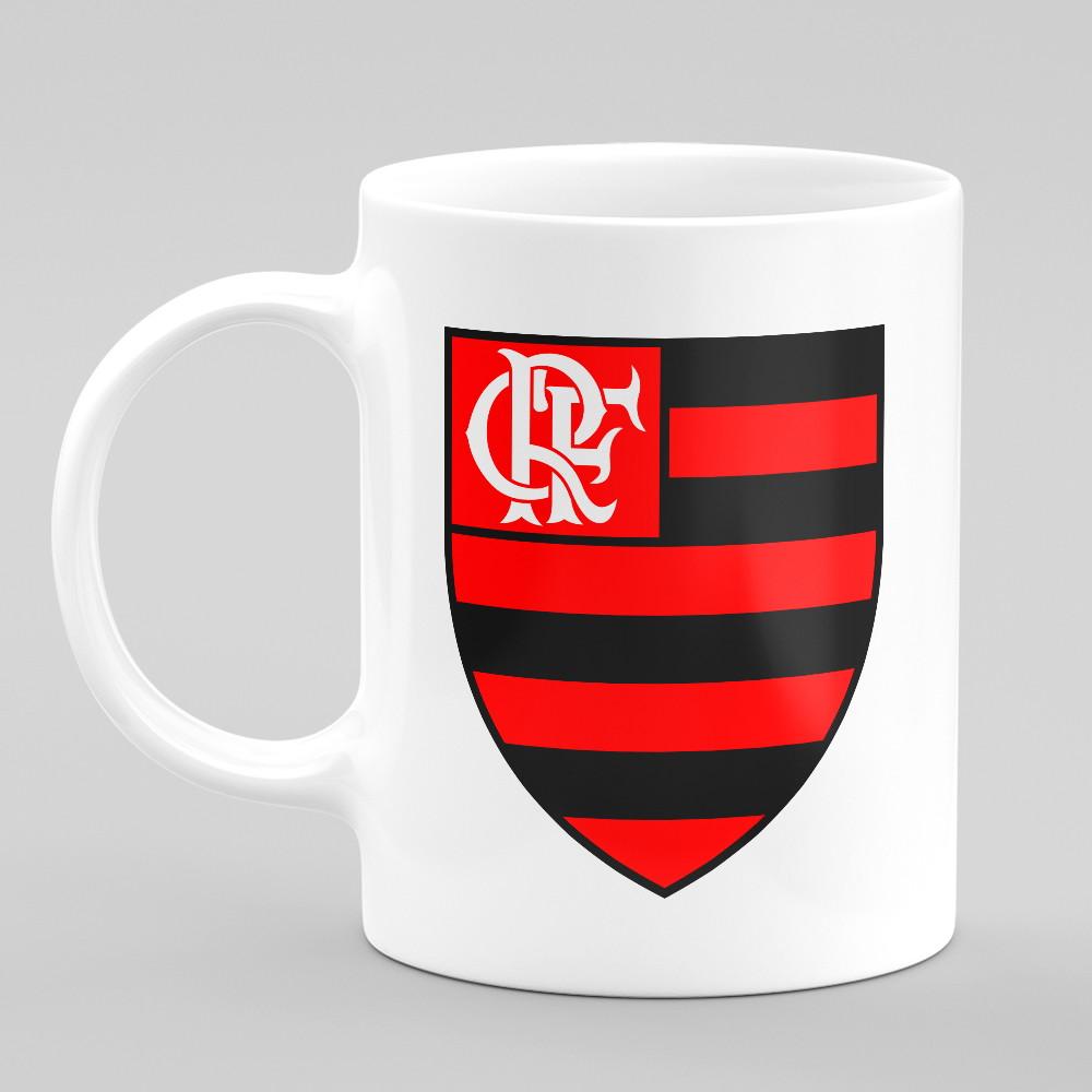 30fadc5d6e Caneca Flamengo Bola de Futebol