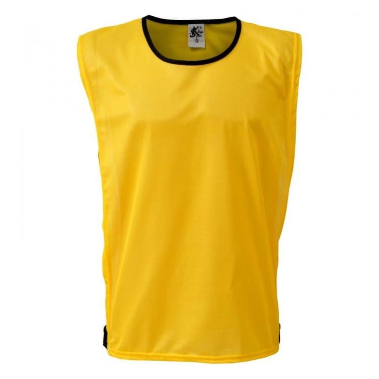 Colete de Futebol Poliester Amarelo  c3f966225adbd