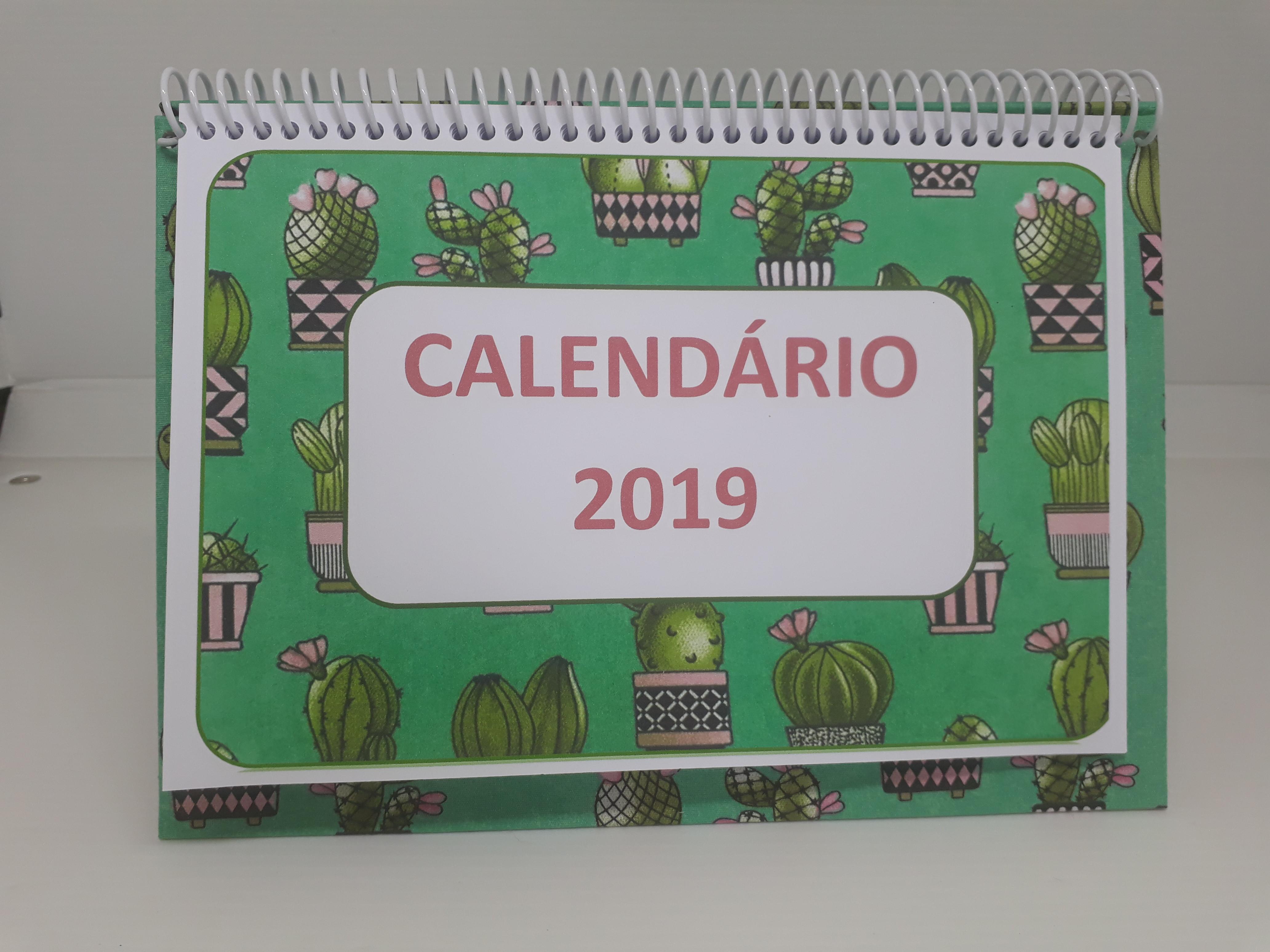 Calendario F2.Calendario De Mesa 2019 F2