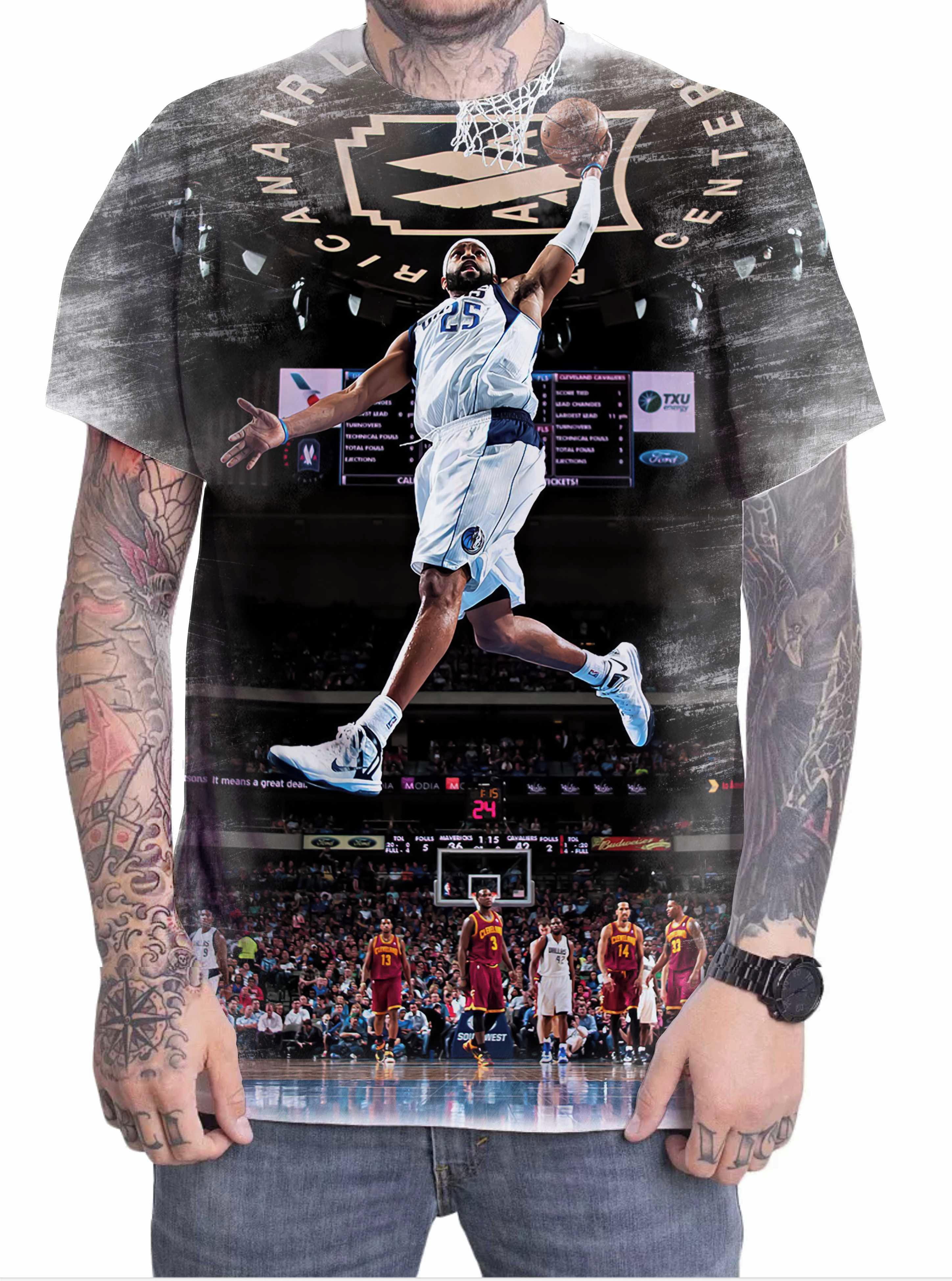 deb9c26b459 Camiseta Camisa Personalizada Allen Iverson Basquete 09