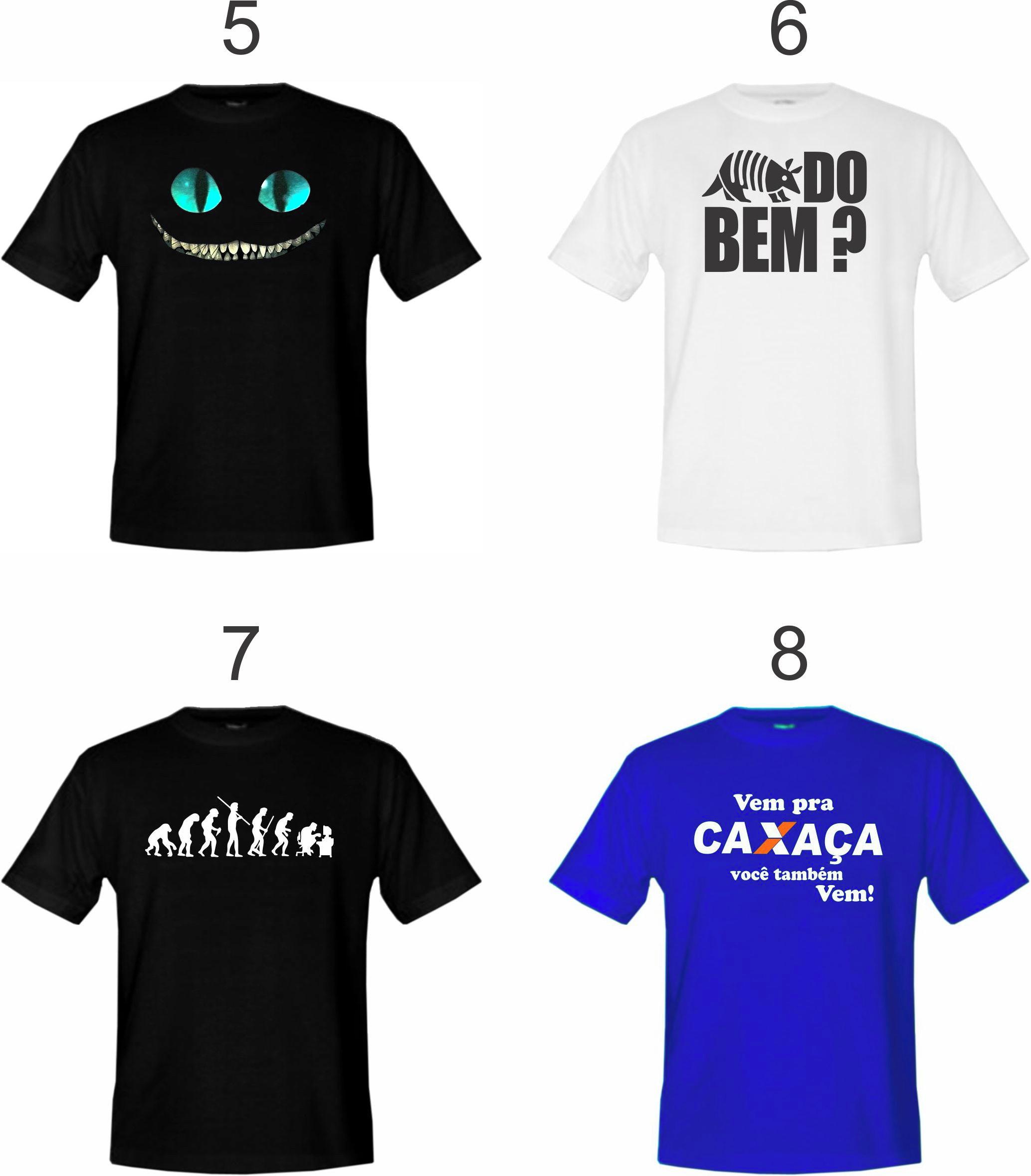 86ada5022c8f8 Kit 3 Camisetas Adulto Vários Modelos - Escolha Já A Sua ! no Elo7 ...
