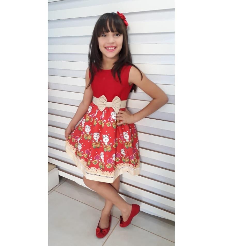 8afaacc47 Vestido Festa Junina vermelho festa São João infantil no Elo7 | Ateliê Iza  Rocha (A12255)