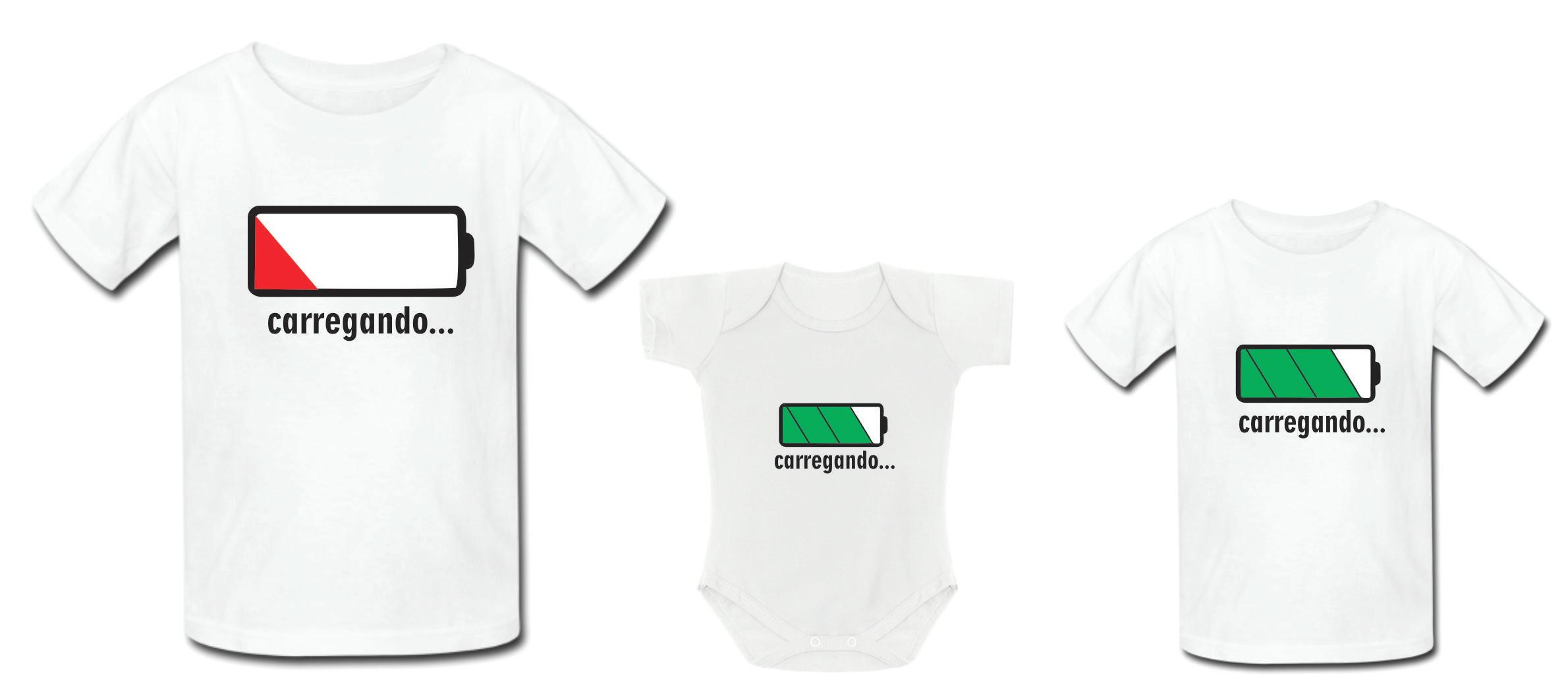Camiseta Personalizada Pai e Filho  1e207c8a5fc1c