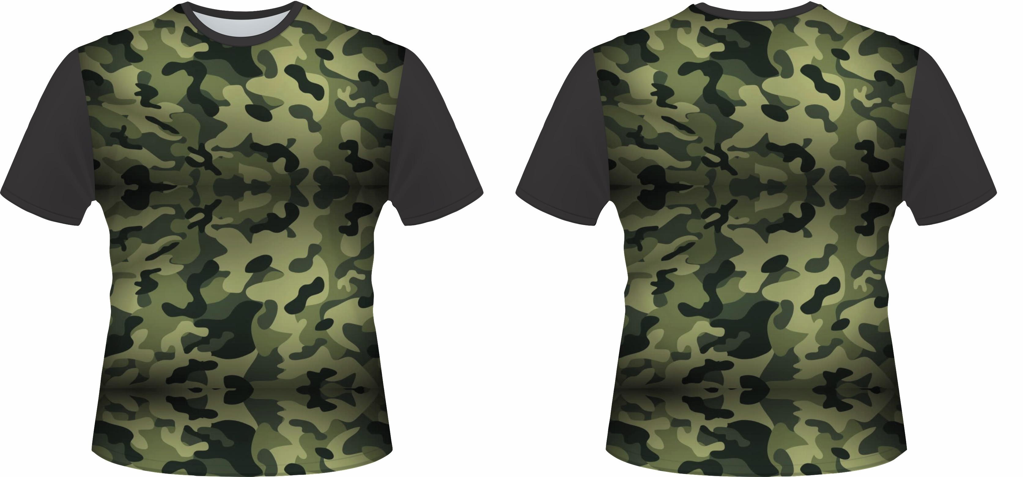 Camiseta Camuflada 02 no Elo7  b4560a44674