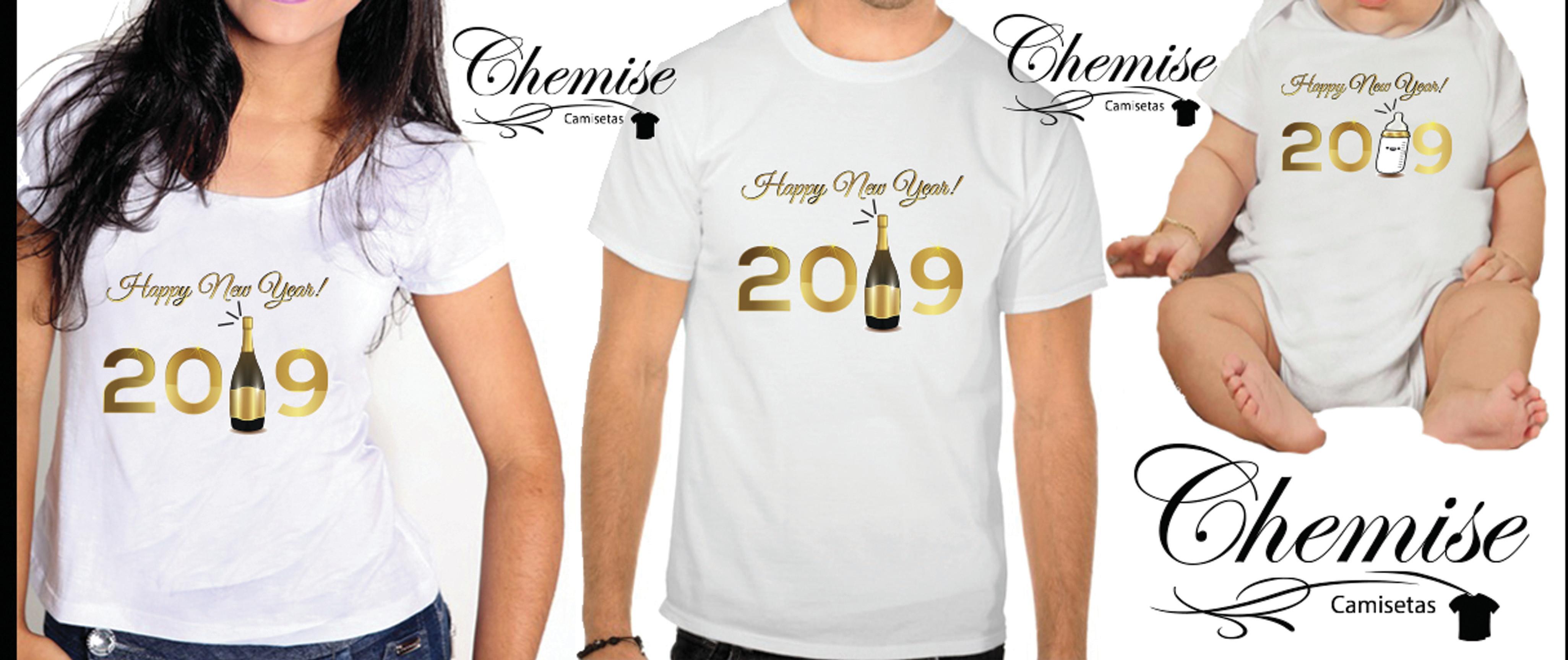 Camiseta Reveillon Elo7