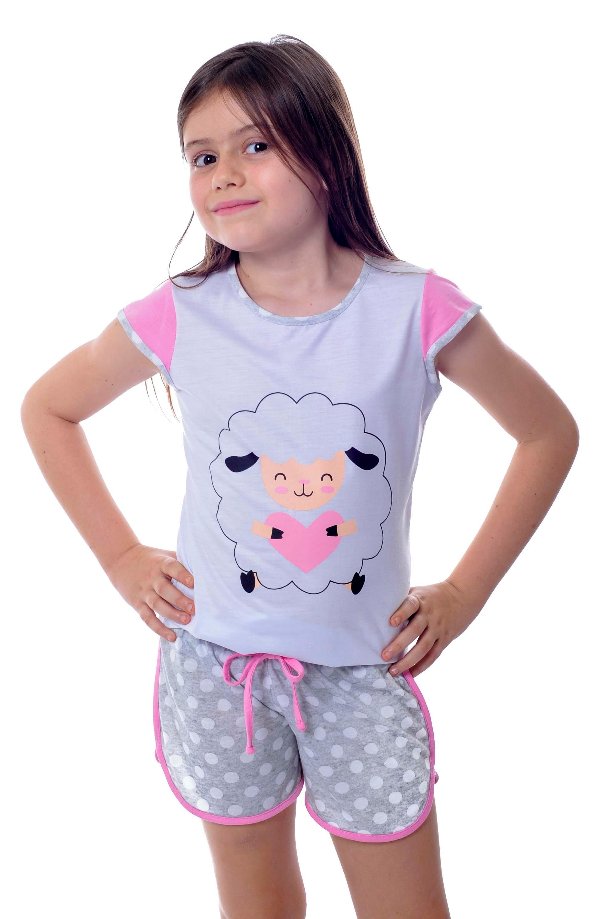 fe97b08f93a Kit Infantil Masculino Feminino Pijamas Conjunto