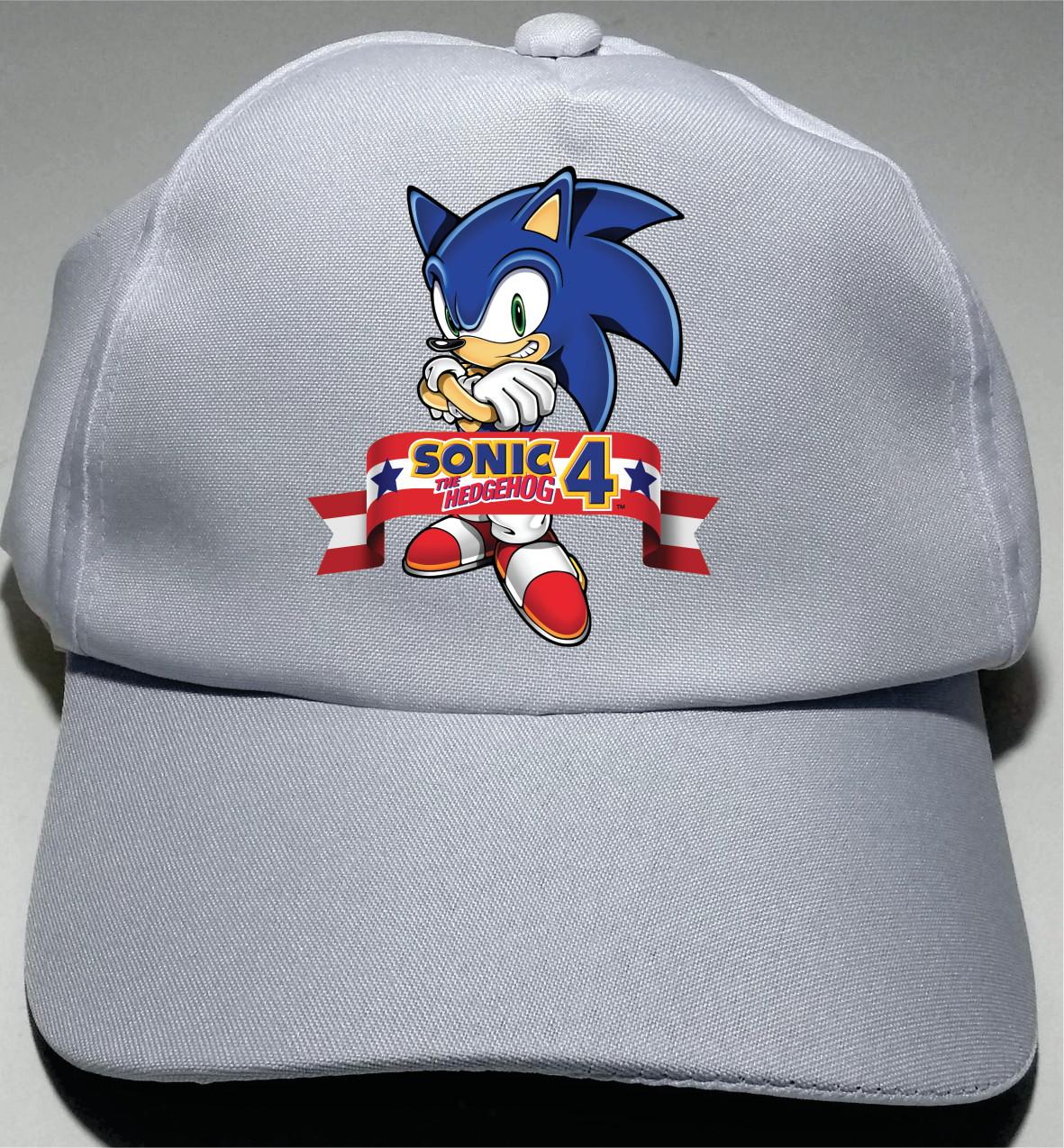 Boné Sonic M07 no Elo7  cd08c61ca34