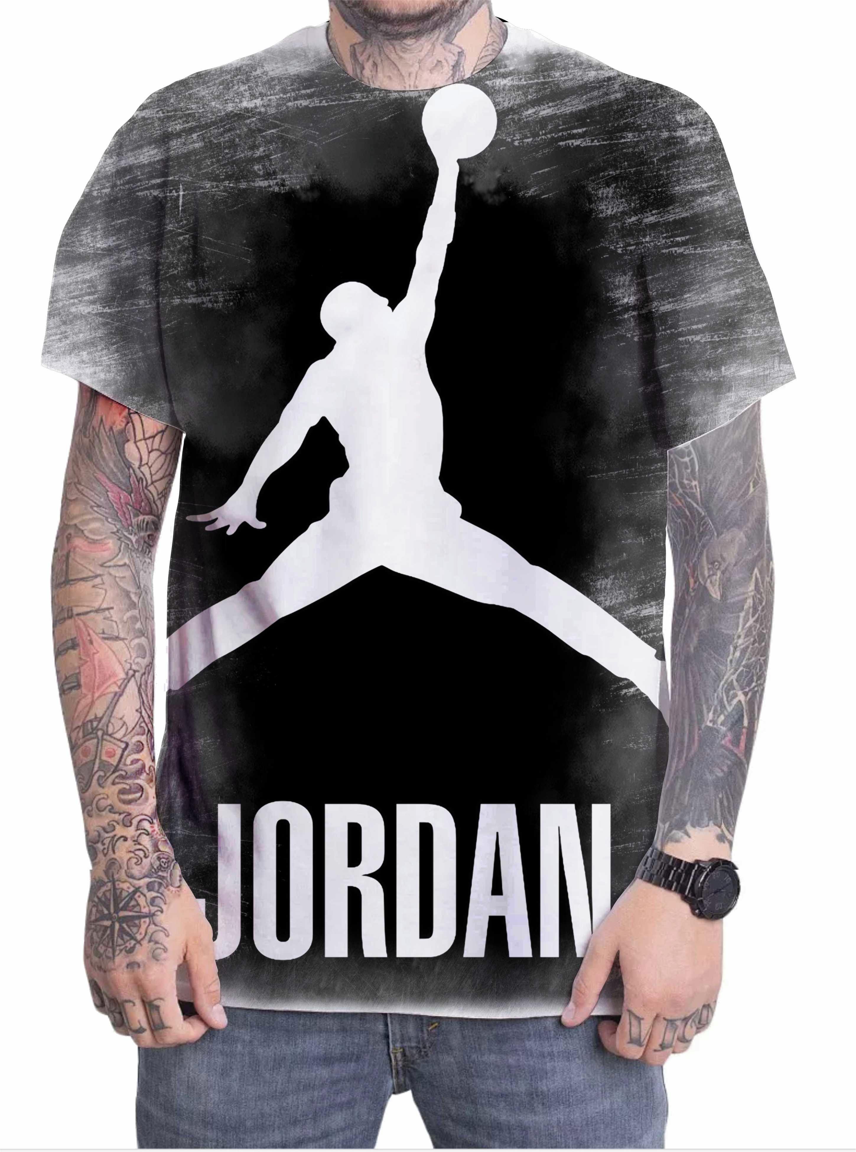 4f865324bdd Camiseta Camisa Personalizada Jogador Michael Jordan 08