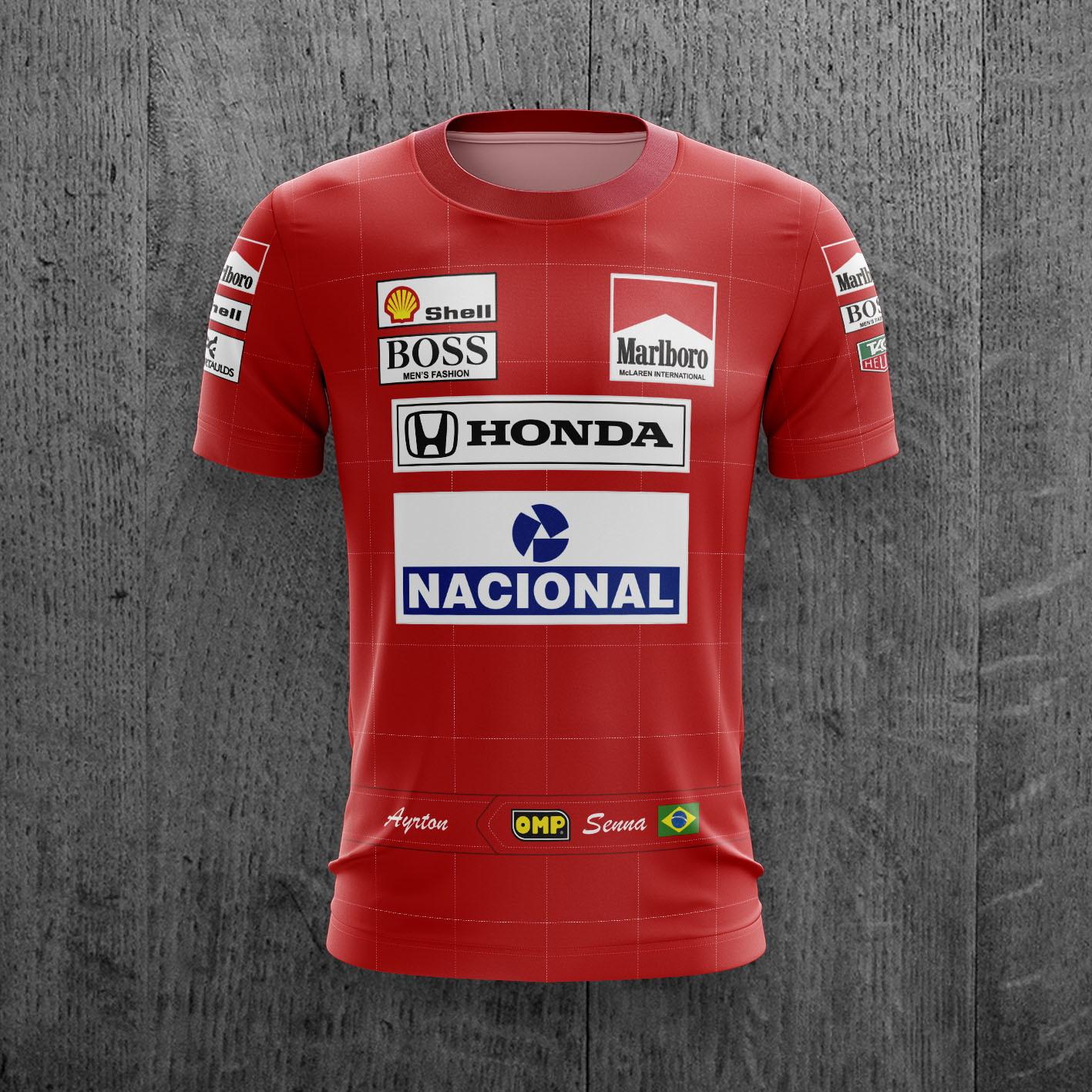 f37a8262d2 Camiseta Mclaren   Elo7